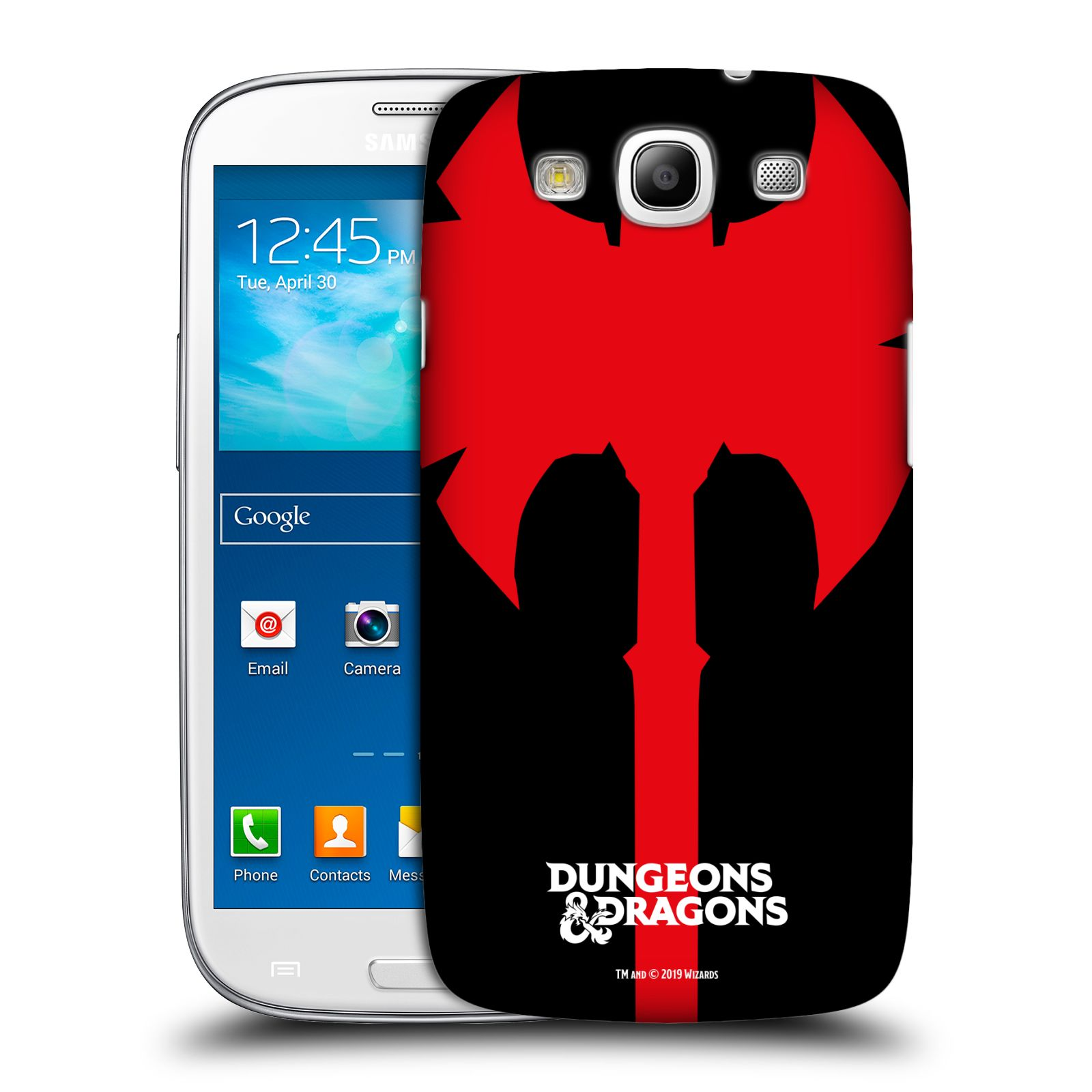Pouzdro na mobil Samsung Galaxy S3 - HEAD CASE - Dungeons and Dragons - Barbar
