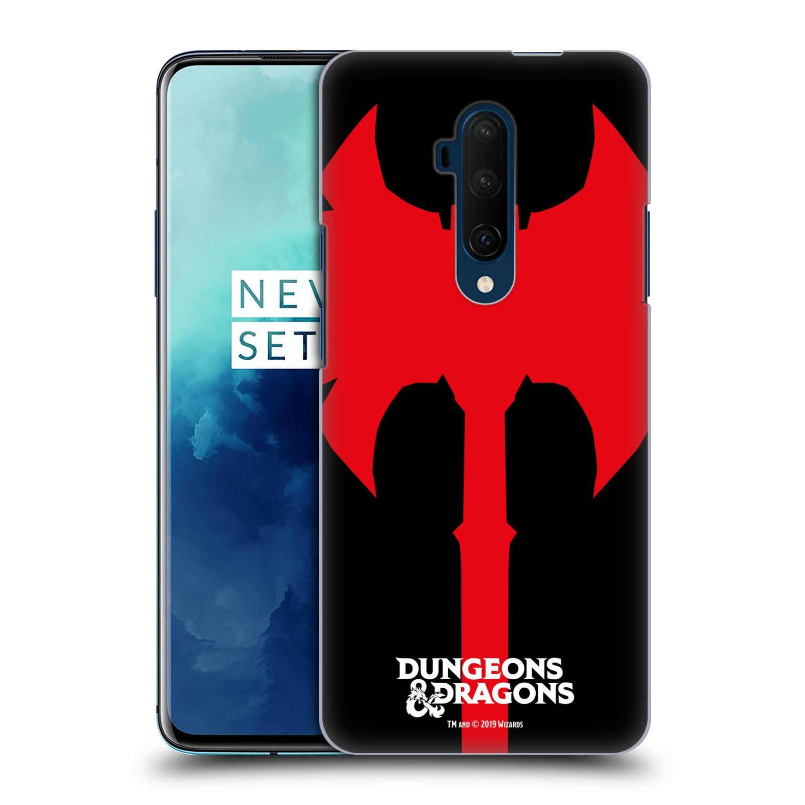 Pouzdro na mobil OnePlus 7T Pro - HEAD CASE - Dungeons and Dragons - Barbar