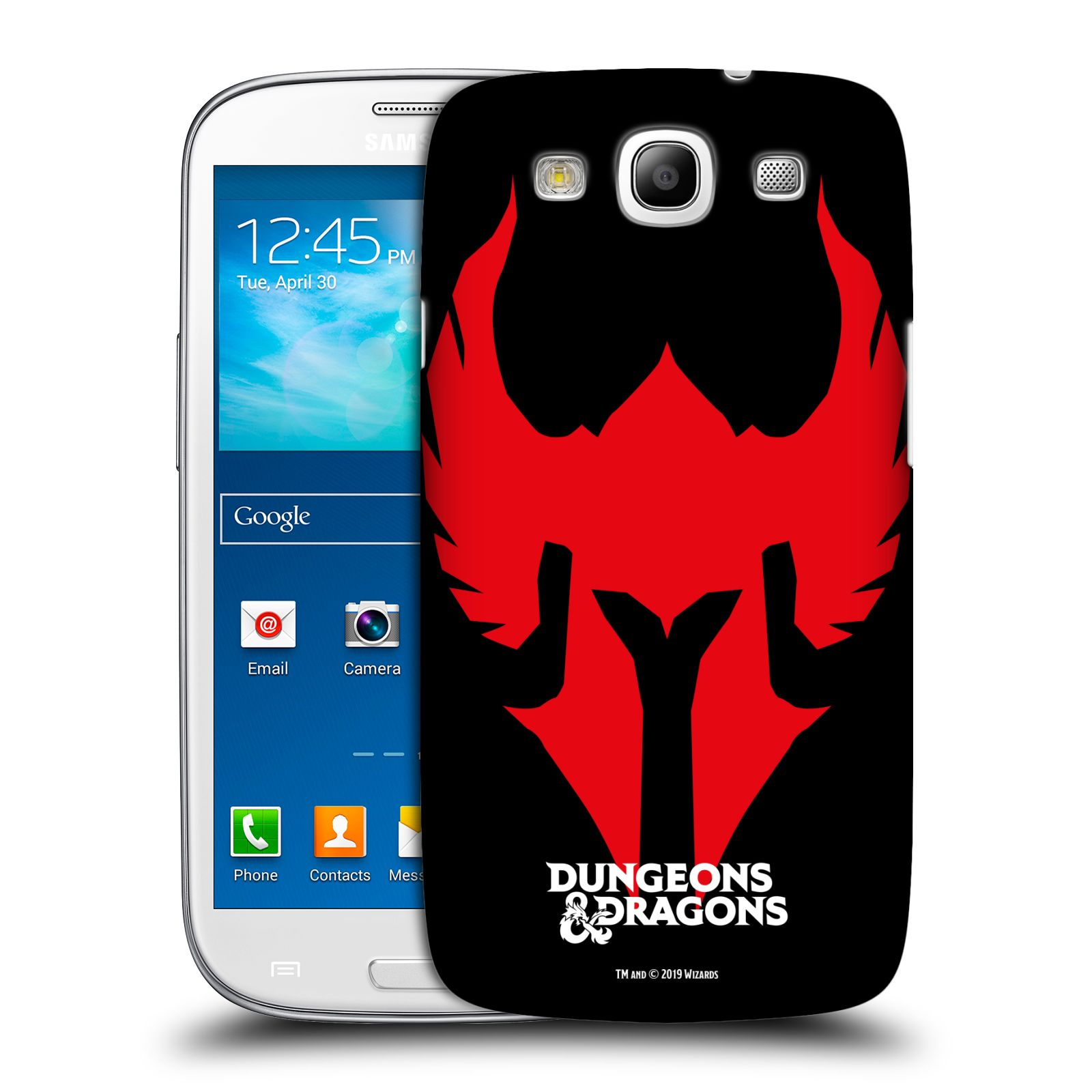Pouzdro na mobil Samsung Galaxy S3 - HEAD CASE - Dungeons and Dragons - Paladin