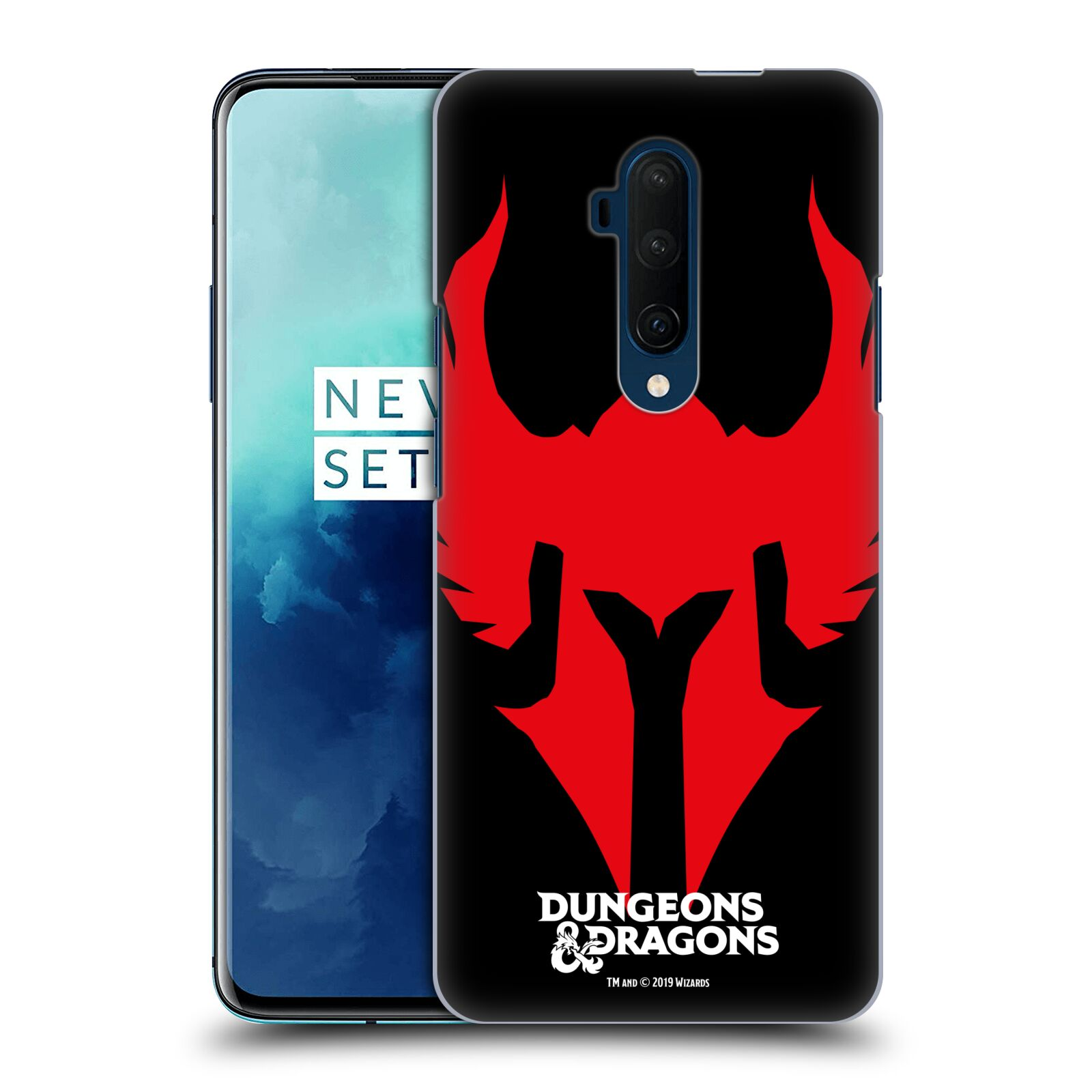 Pouzdro na mobil OnePlus 7T Pro - HEAD CASE - Dungeons and Dragons - Paladin