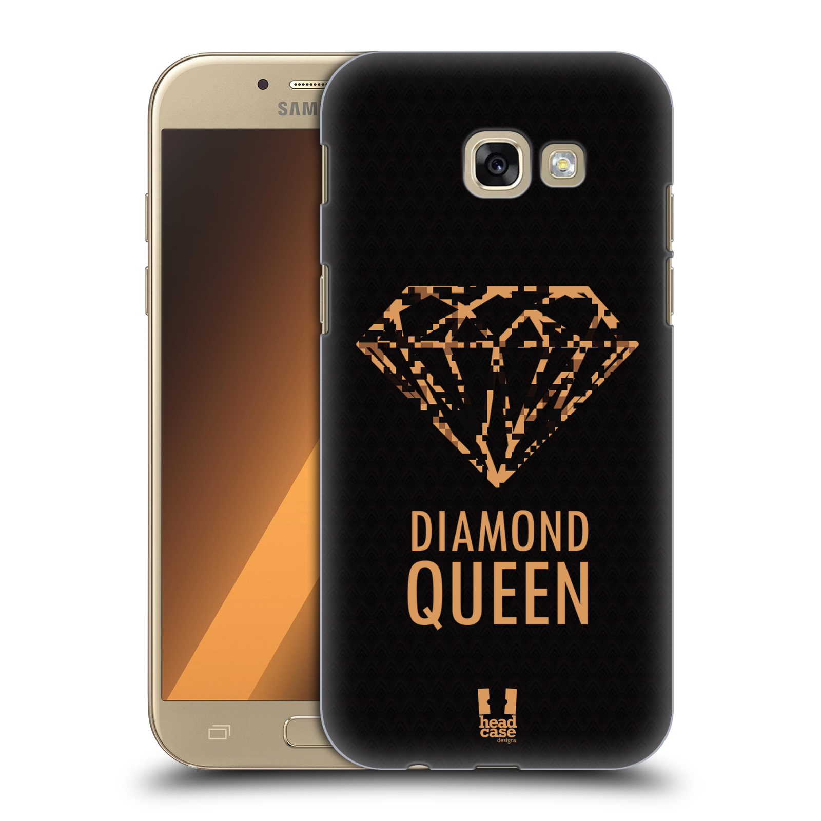 HEAD-CASE-DESIGNS-DIAMONDS-HARD-BACK-CASE-FOR-SAMSUNG-GALAXY-A5-2017