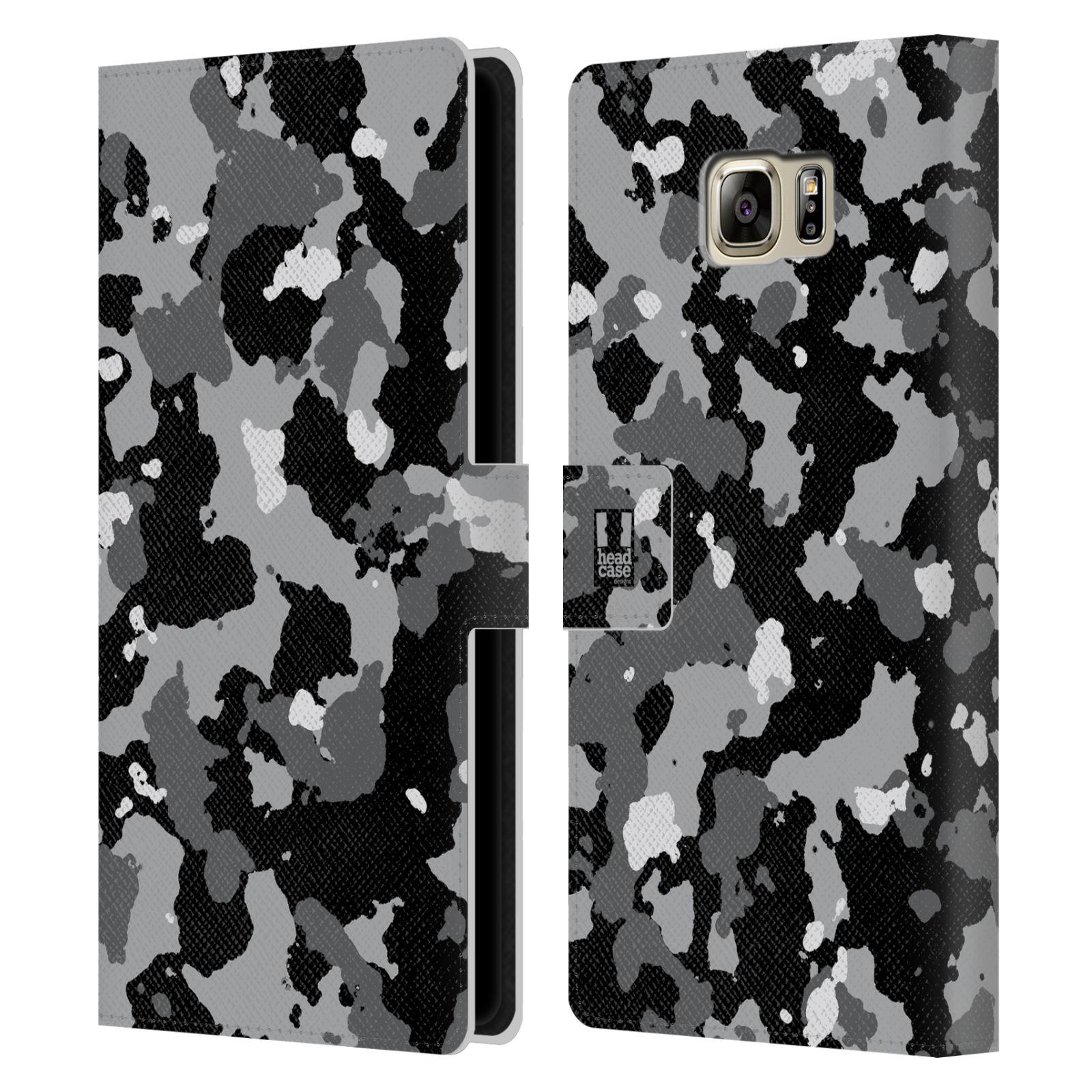 Pouzdro na mobil Samsung Galaxy NOTE 5 - Head Case - kamuflaž černá a šedá