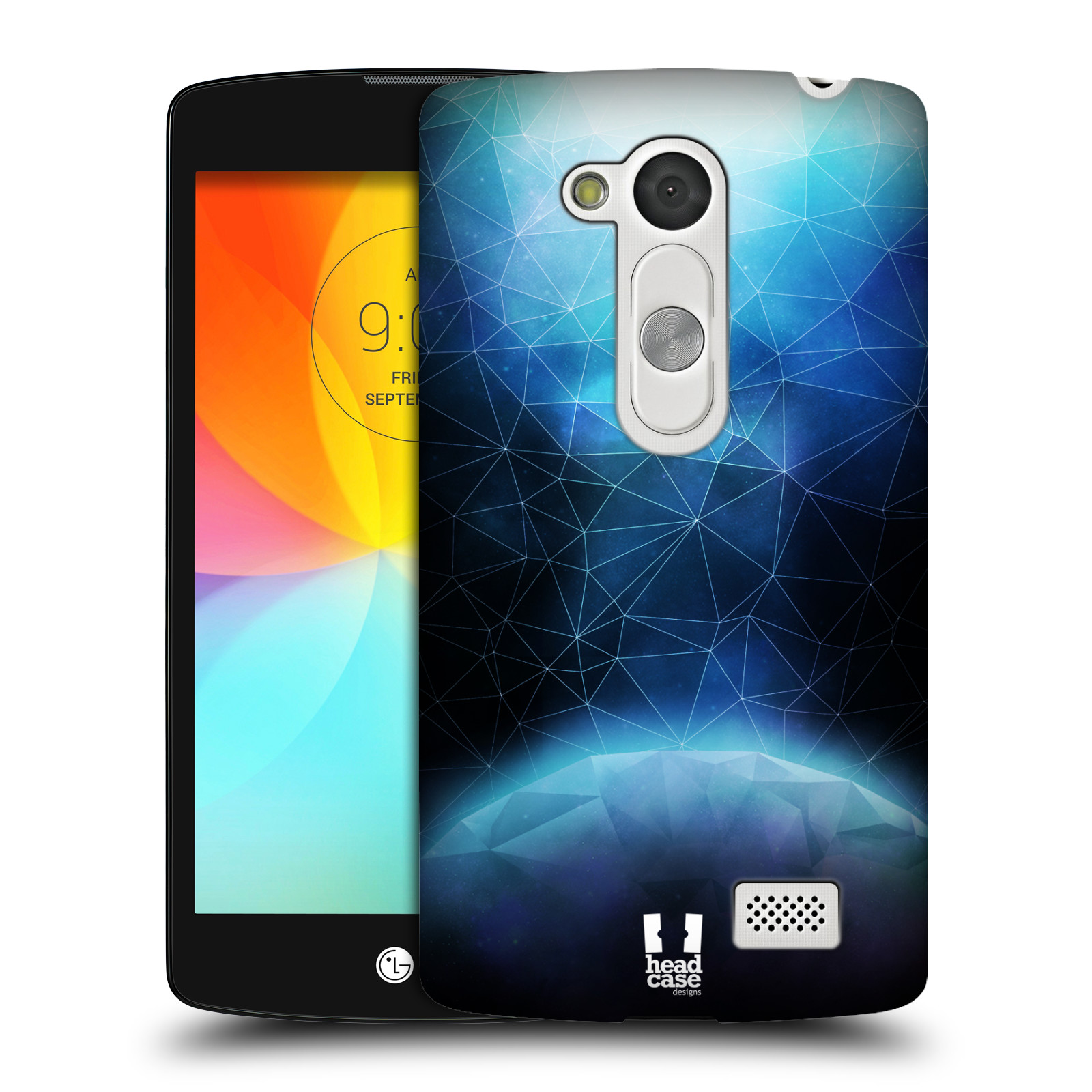 HEAD CASE DESIGNS DISCOVERING UNIVERSE HARD BACK CASE FOR LG L FINO D290N