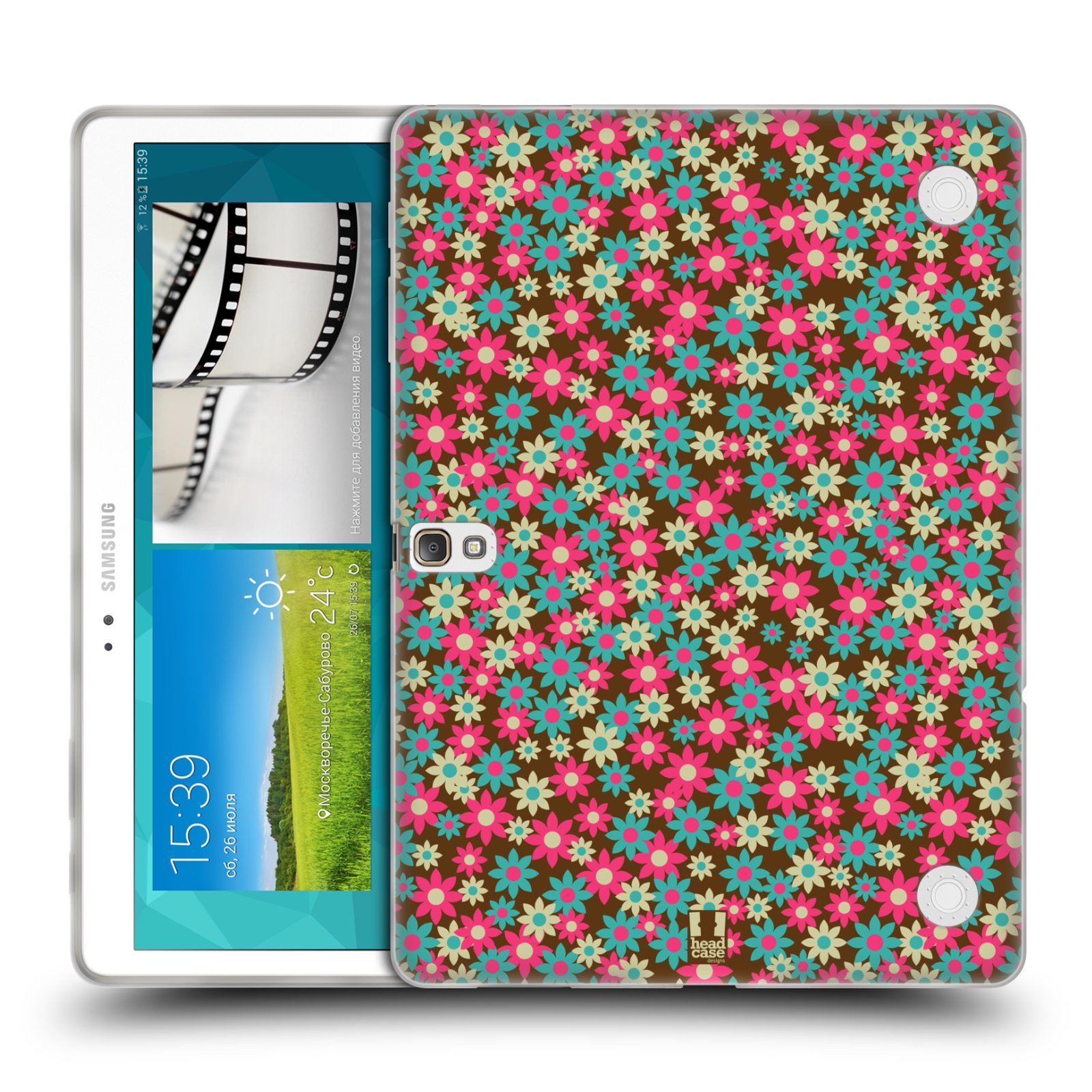 HEAD CASE DITSY FLORAL PATTERNS GEL CASE FOR SAMSUNG GALAXY TAB S 10.5 LTE T805