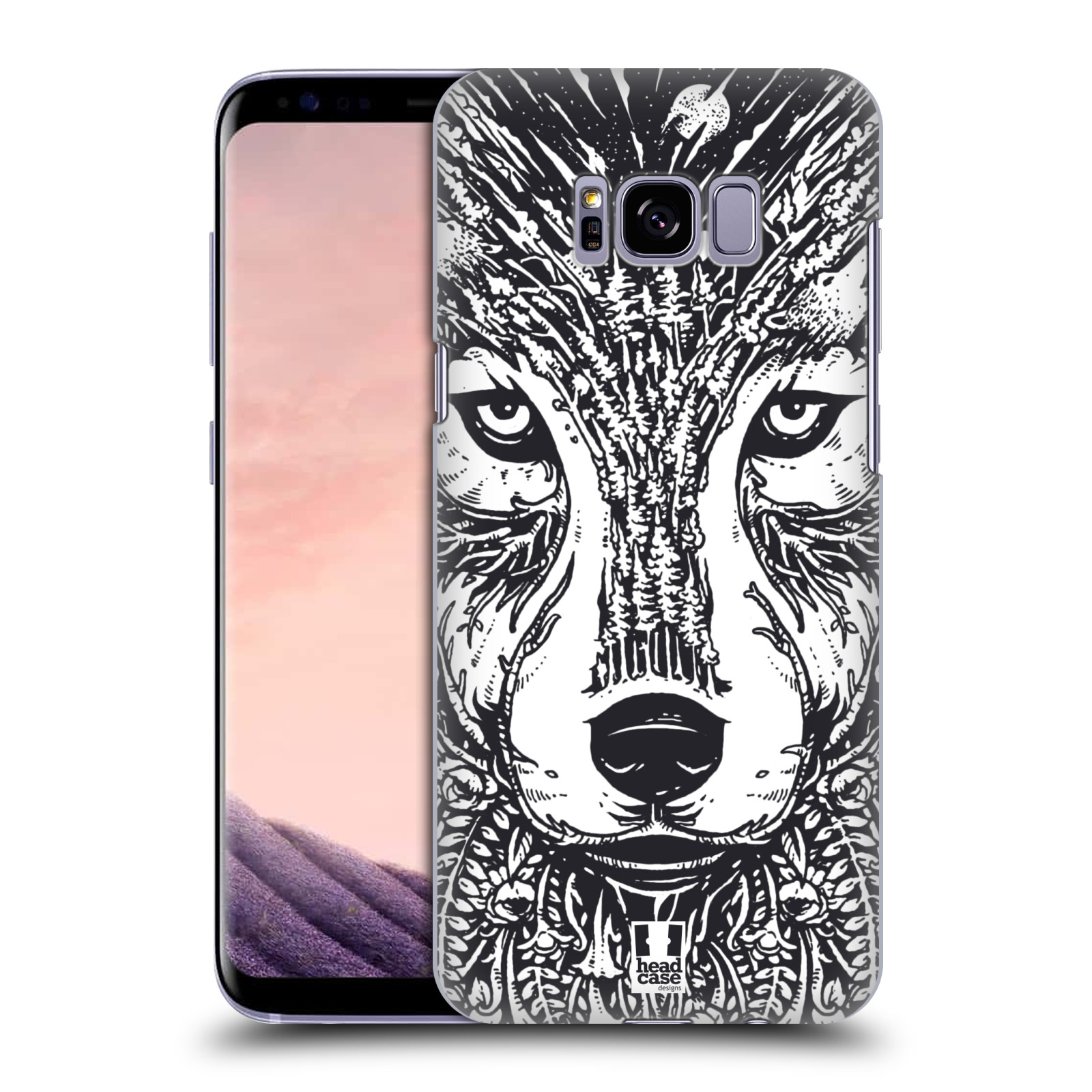 HEAD-CASE-DESIGNS-DOODLE-ANIMAL-FACES-BACK-CASE-FOR-SAMSUNG-GALAXY-S8-S8-PLUS