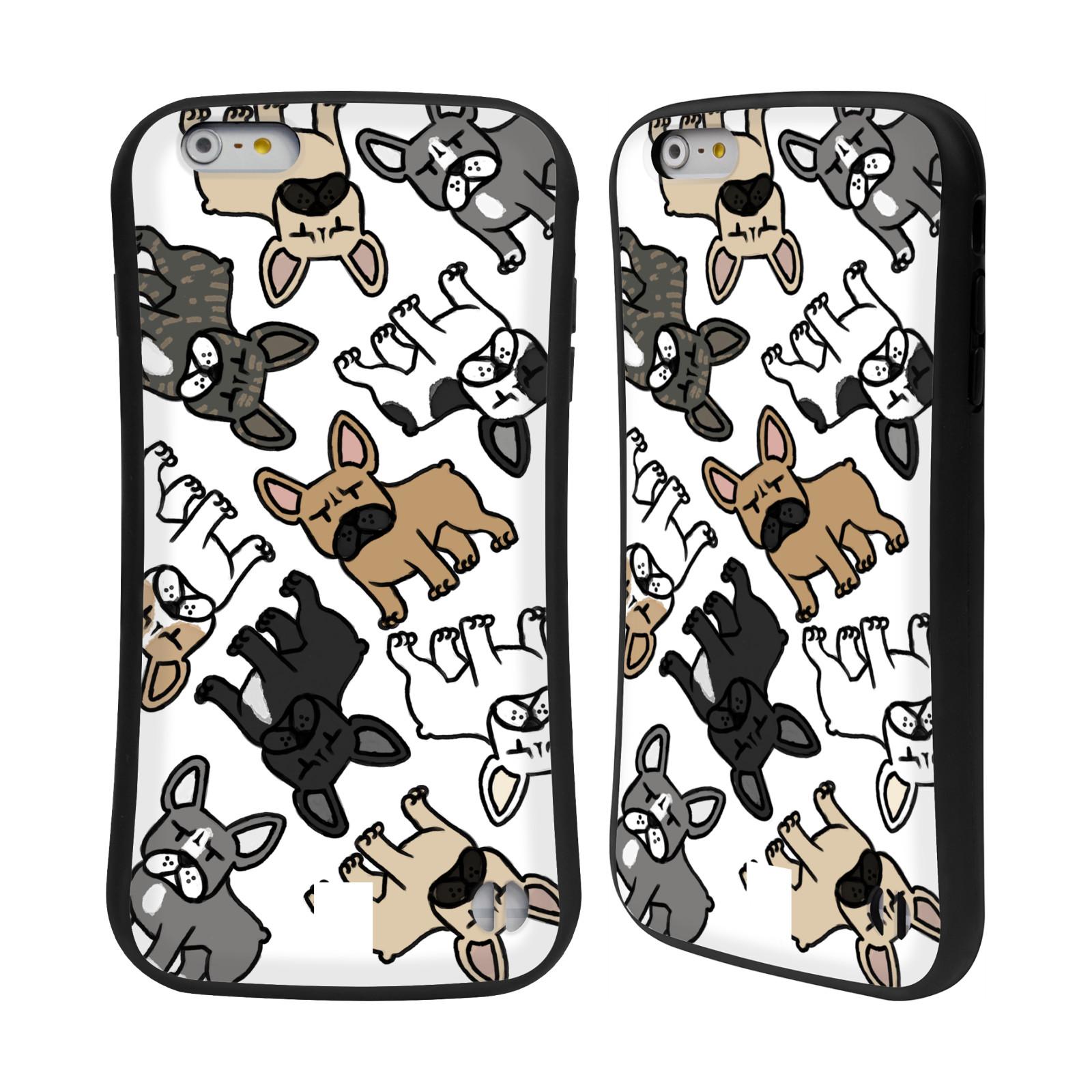 HEAD CASE odolný obal na mobil Apple Iphone 6 6S PLUS pejsek francouzský  buldog empty 0e140b6ada7