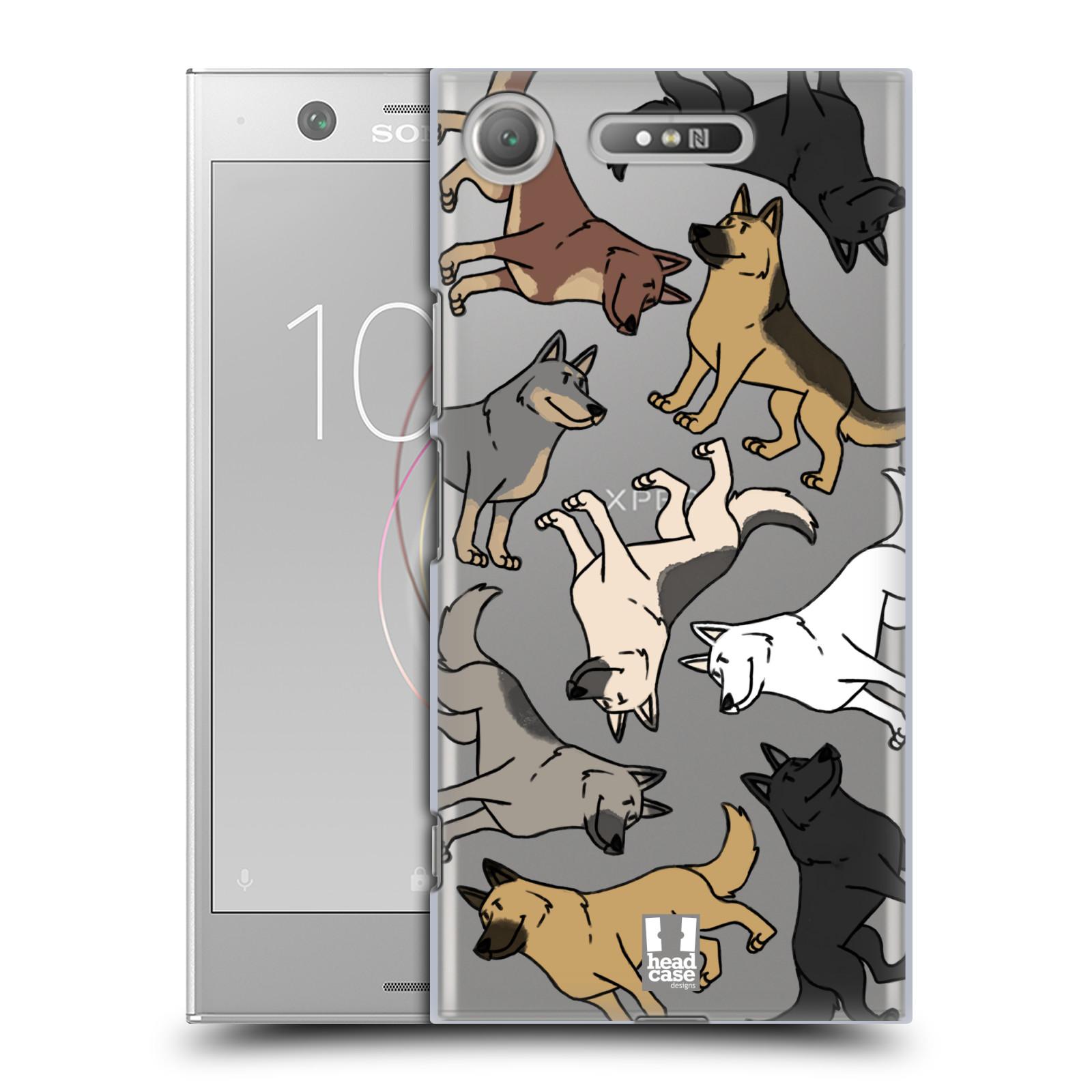 HEAD CASE plastový obal na mobil Sony Xperia XZ1 pejsek Německý Ovčák