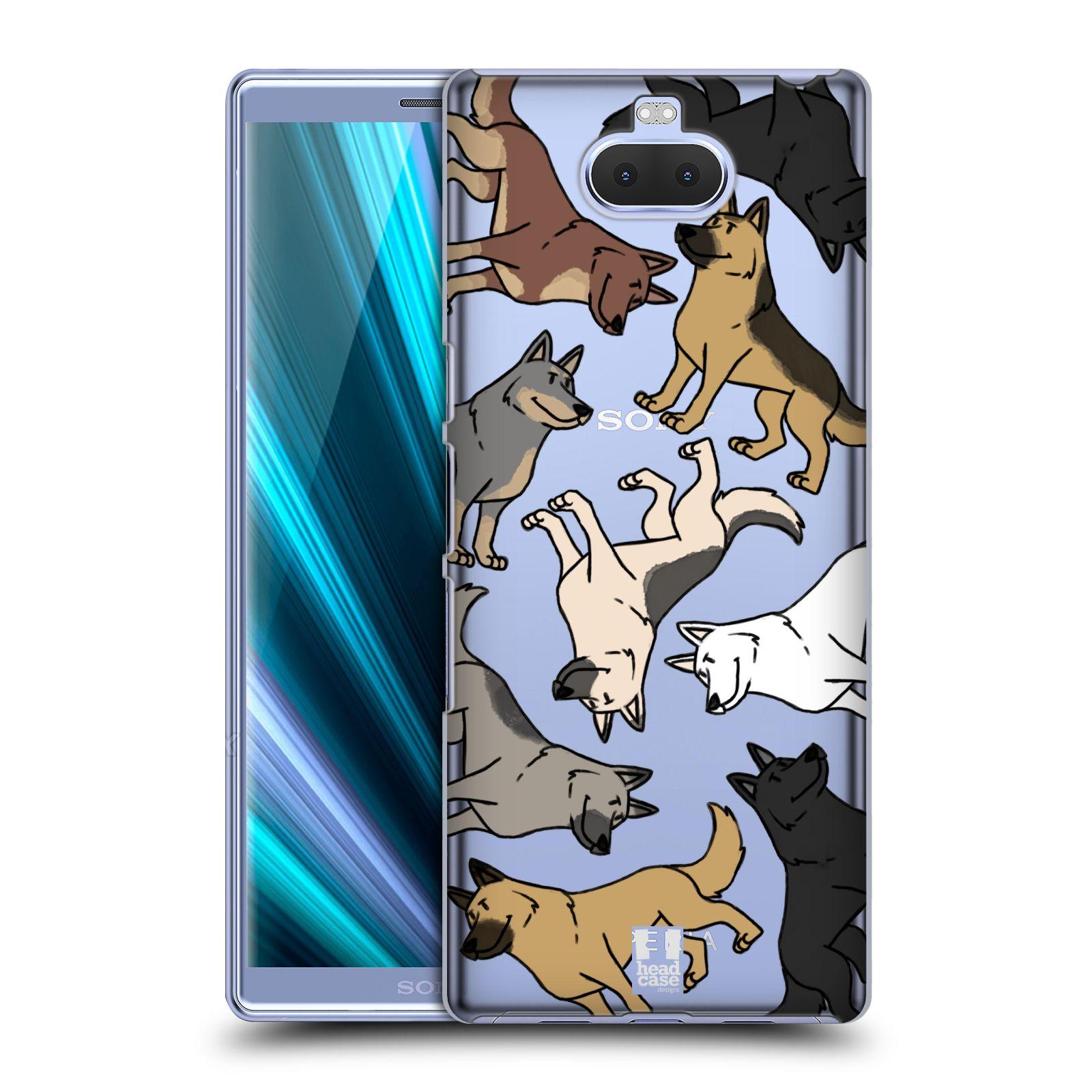 Pouzdro na mobil Sony Xperia 10 Plus - Head Case - pejsek Německý Ovčák