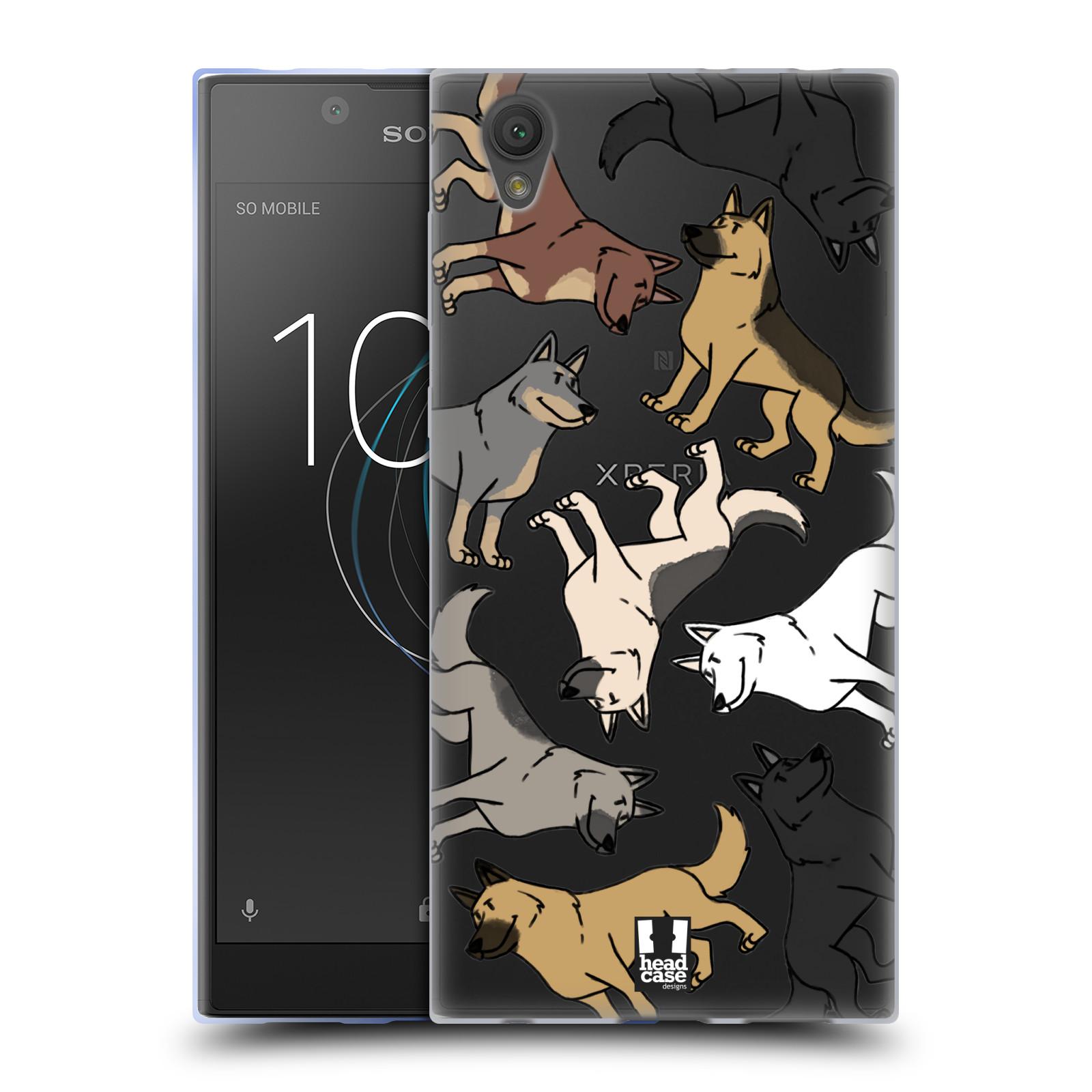 HEAD CASE silikonový obal na mobil Sony Xperia L1 pejsek Německý Ovčák