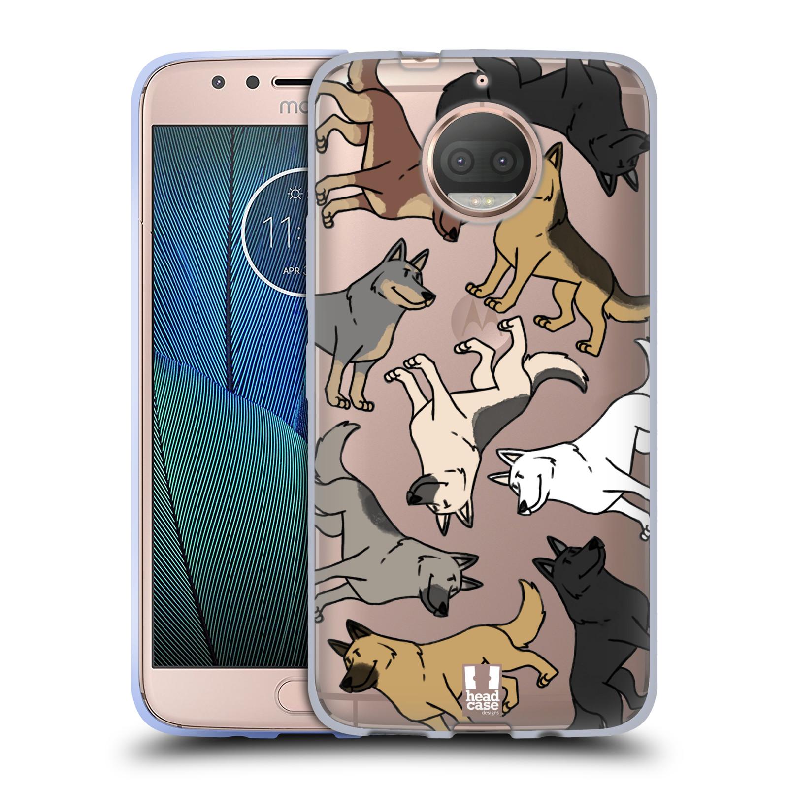 HEAD CASE silikonový obal na mobil Lenovo Moto G5s PLUS pejsek Německý Ovčák