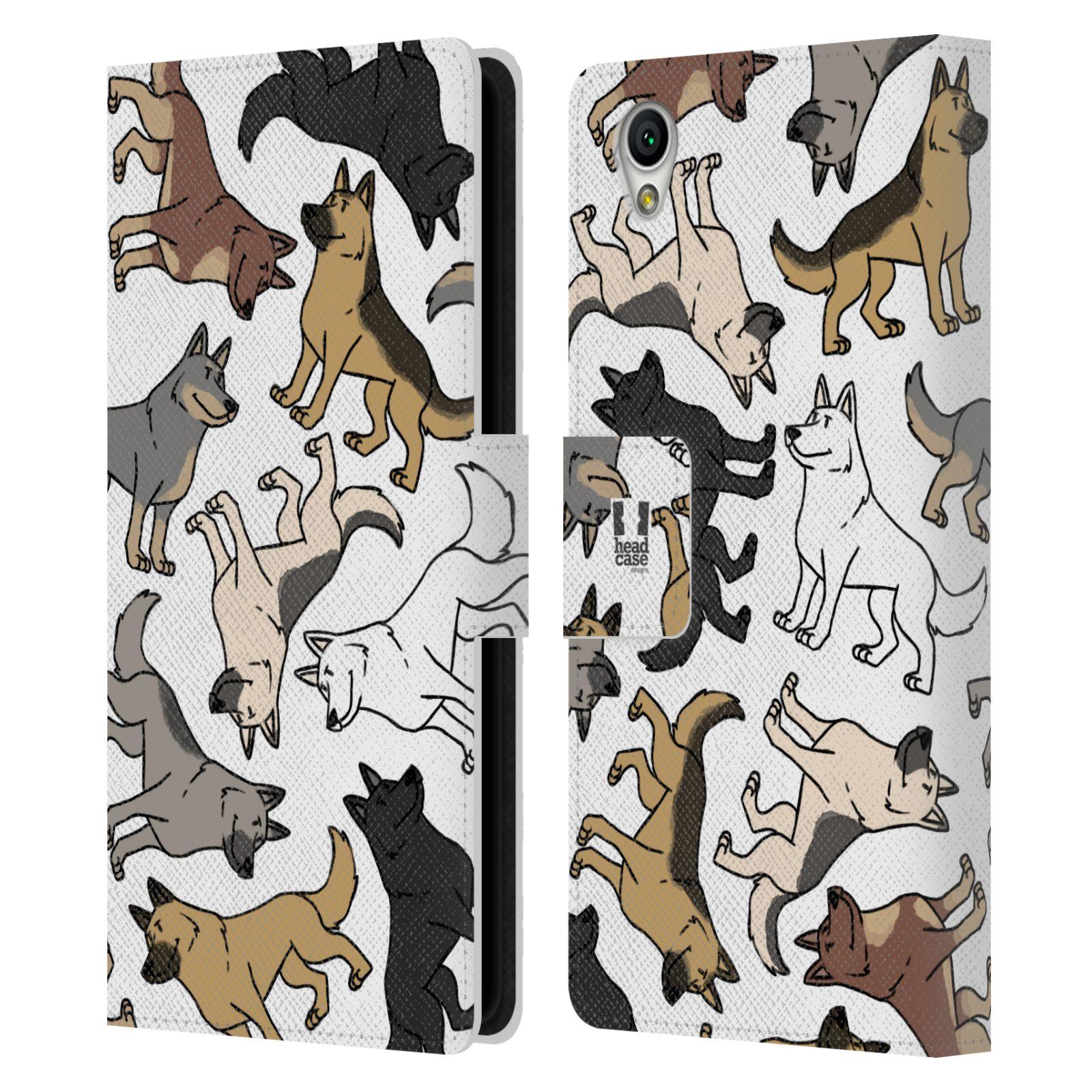 Pouzdro na mobil Sony Xperia L1 - Head Case - pejsek Německý ovčák