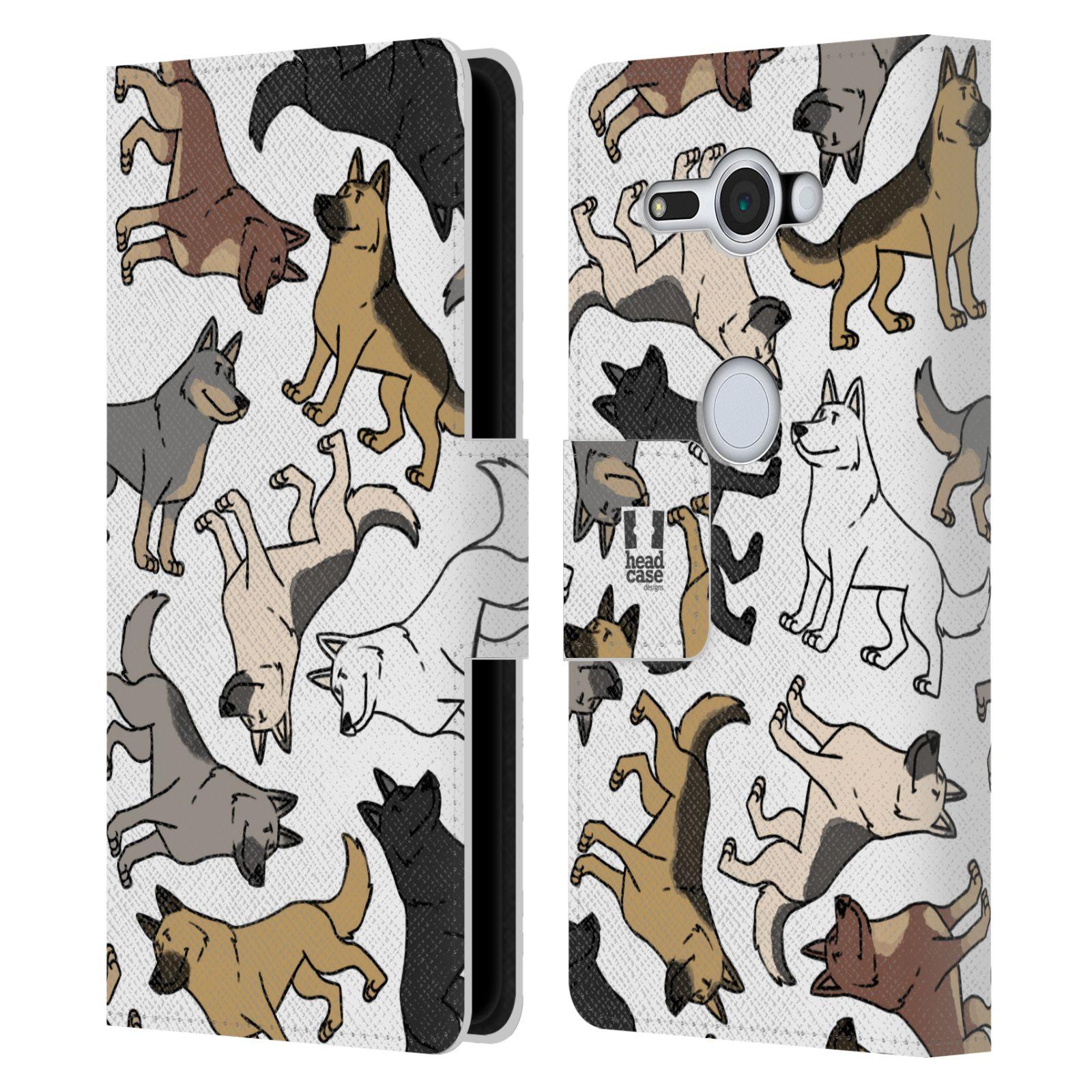 Pouzdro na mobil Sony Xperia XZ2 Compact - Head Case - pejsek Německý ovčák