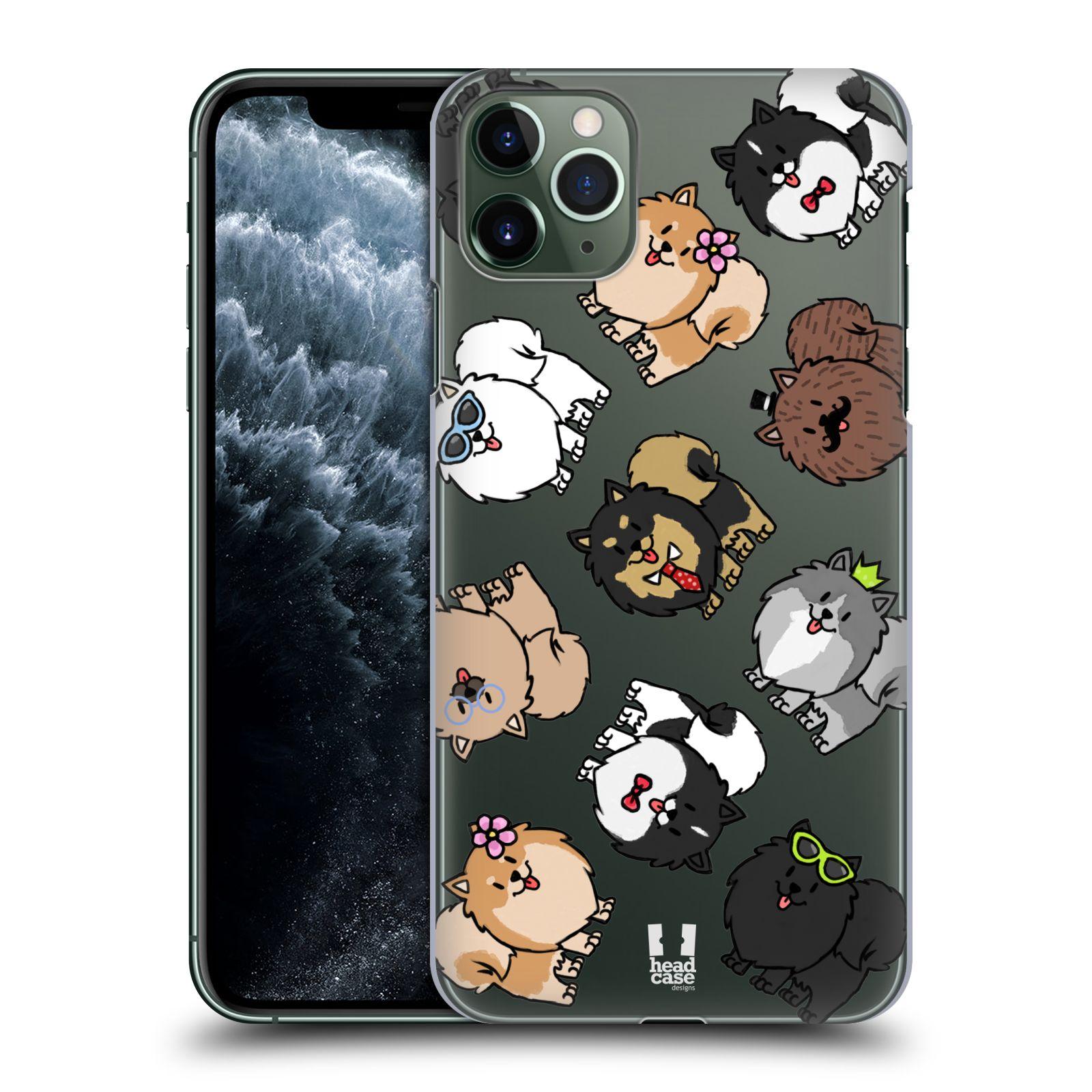 Pouzdro na mobil Apple Iphone 11 PRO MAX - HEAD CASE - pejsek Pomeranian