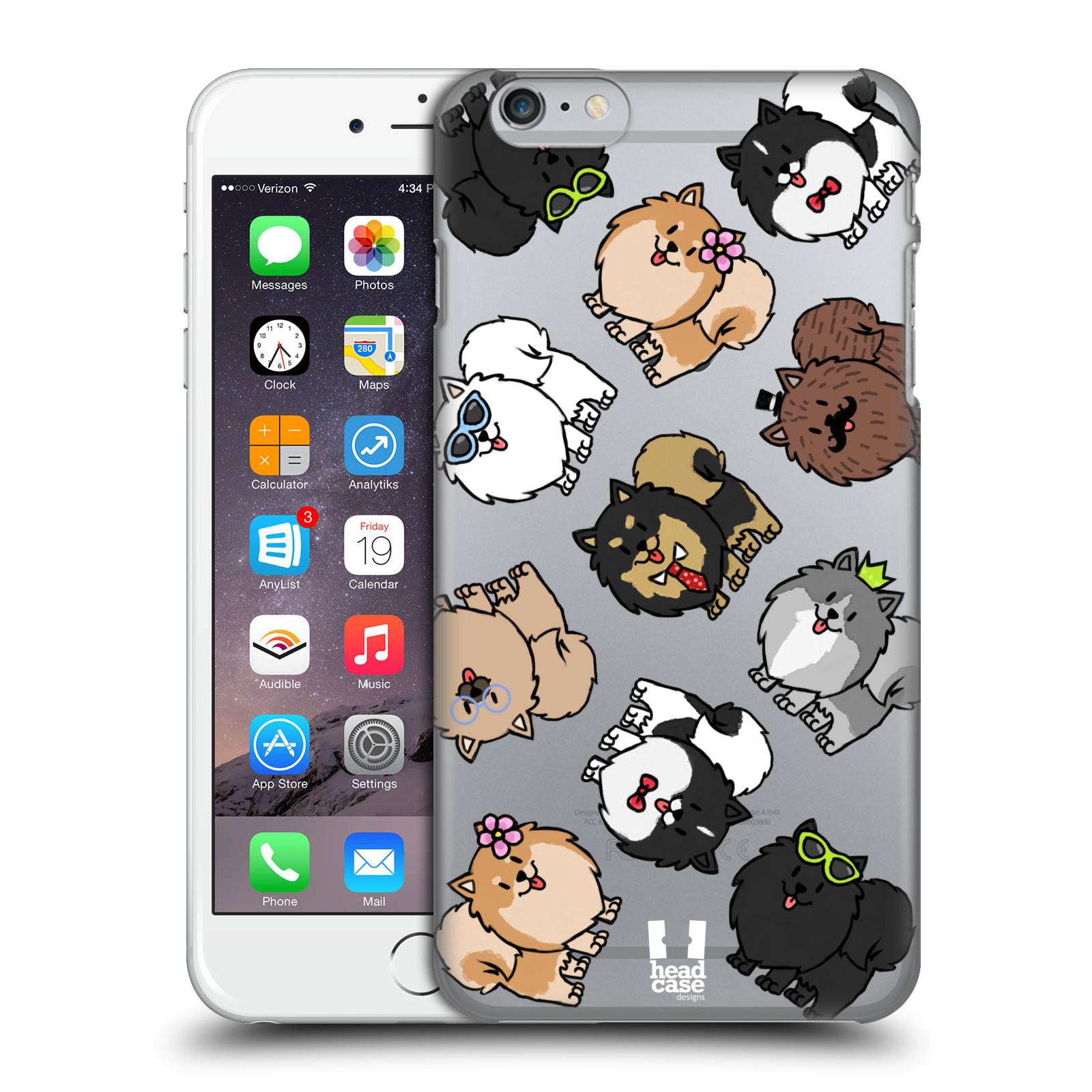 Plastové pouzdro pro mobil Apple Iphone 6 PLUS / 6S PLUS pejsek Pomeranian