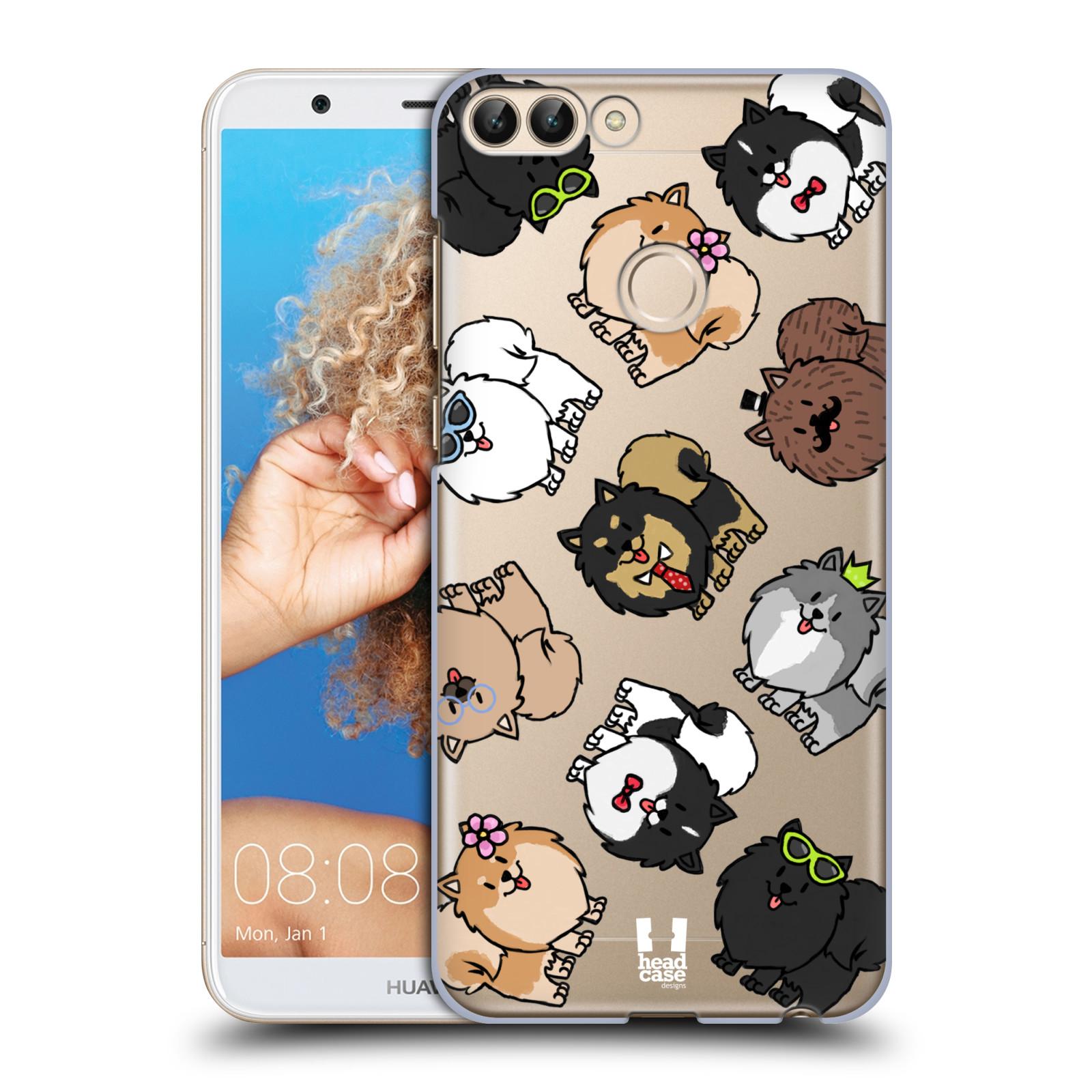 HEAD CASE plastový obal na mobil Huawei P Smart pejsek Pomeranian