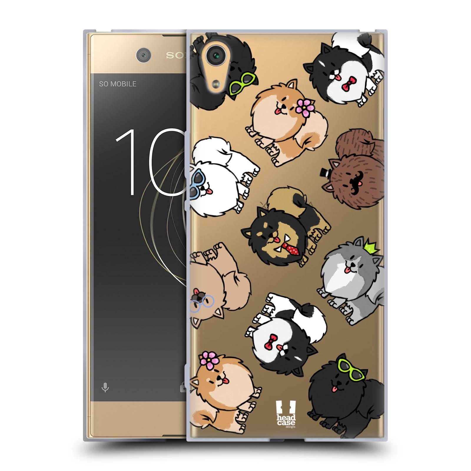 HEAD CASE silikonový obal na mobil Sony Xperia XA1 ULTRA pejsek Pomeranian