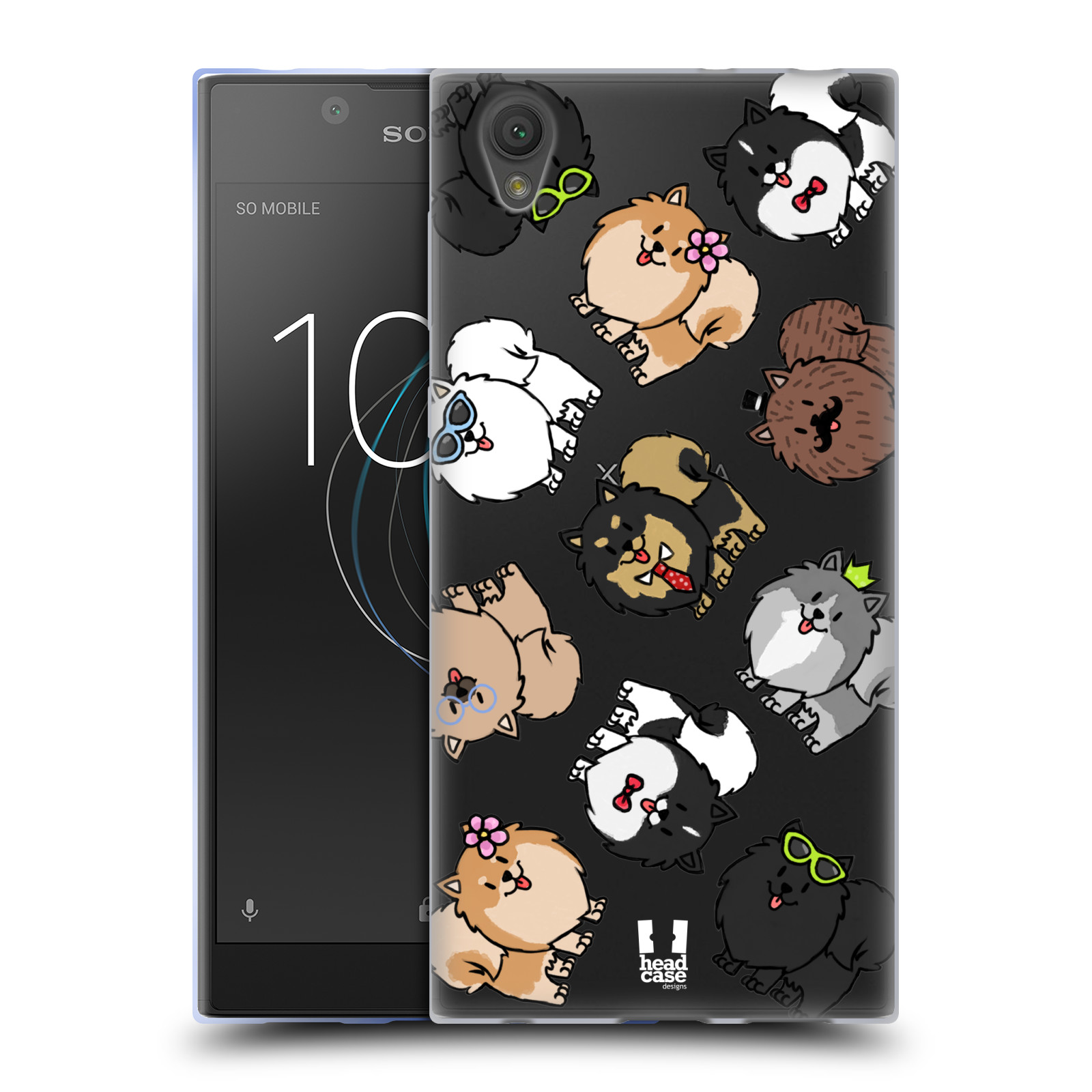 HEAD CASE silikonový obal na mobil Sony Xperia L1 pejsek Pomeranian