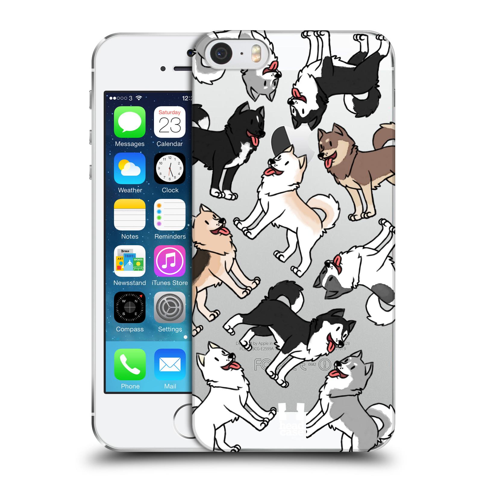 Plastové pouzdro pro mobil Apple Iphone 5 / 5S / SE pejsek Sibiřský husky