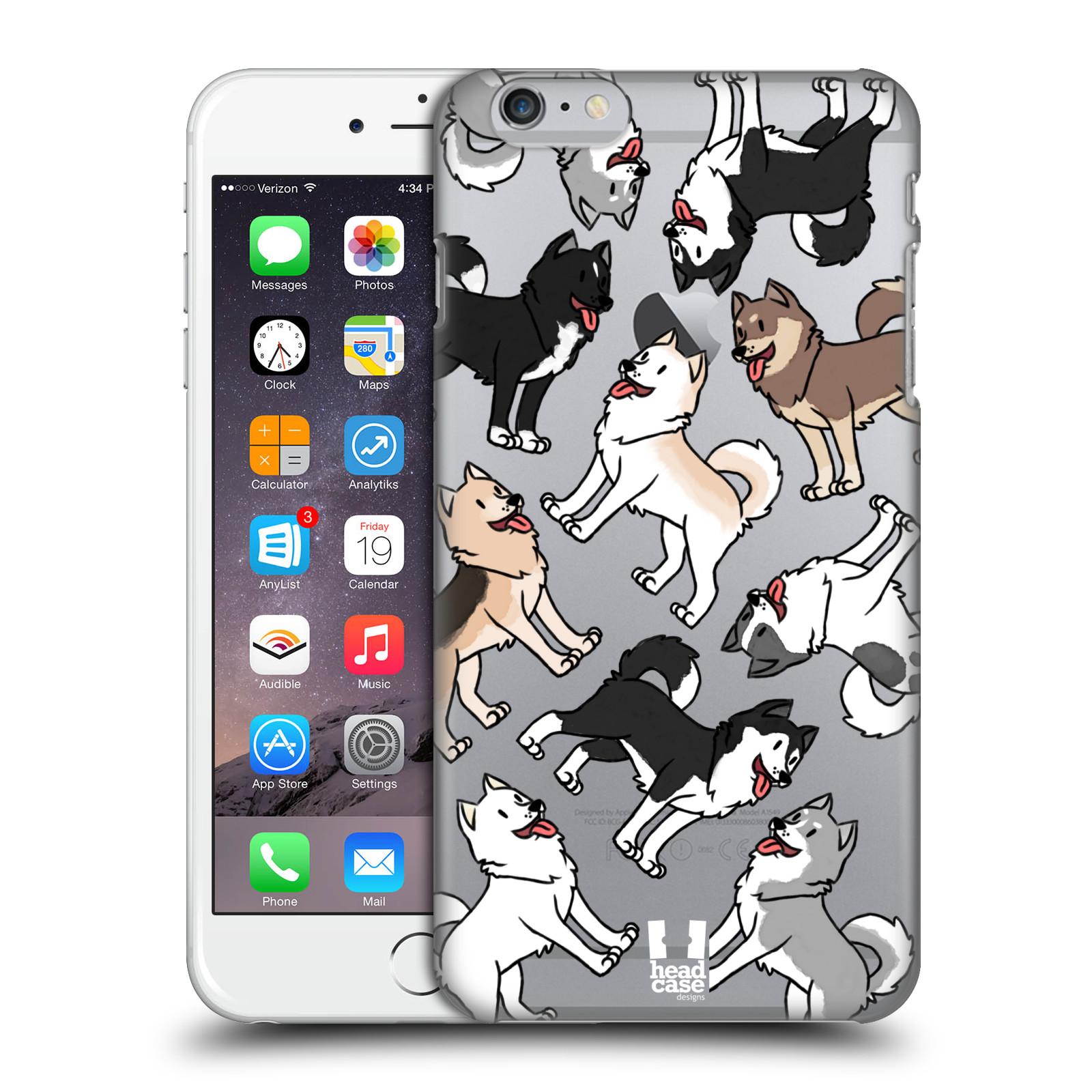 Plastové pouzdro pro mobil Apple Iphone 6 PLUS / 6S PLUS pejsek Sibiřský husky