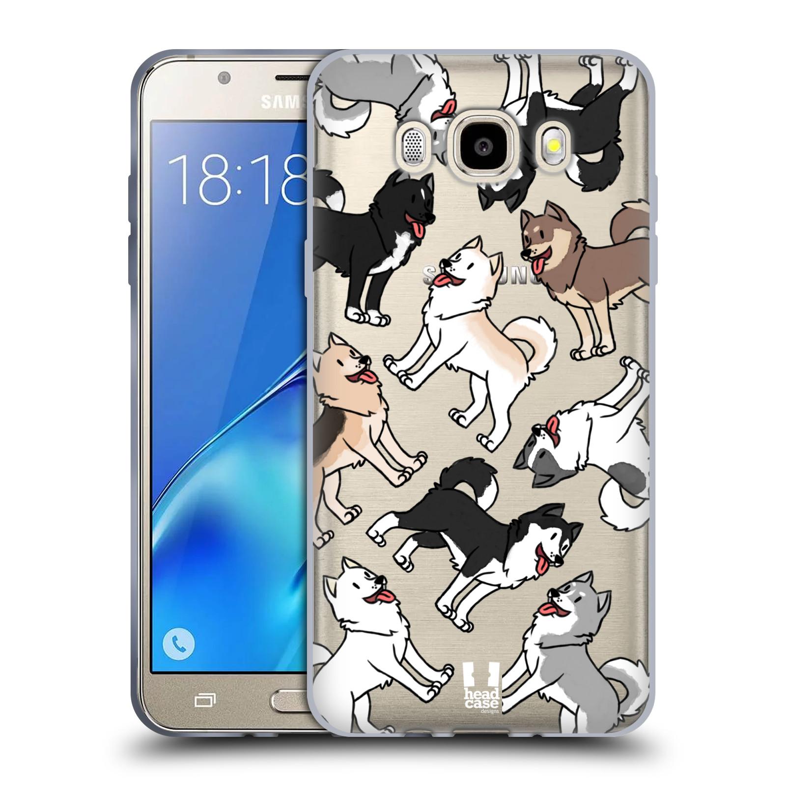 HEAD CASE silikonový obal na mobil Samsung Galaxy J5 2016 (J510) pejsek Sibiřský husky