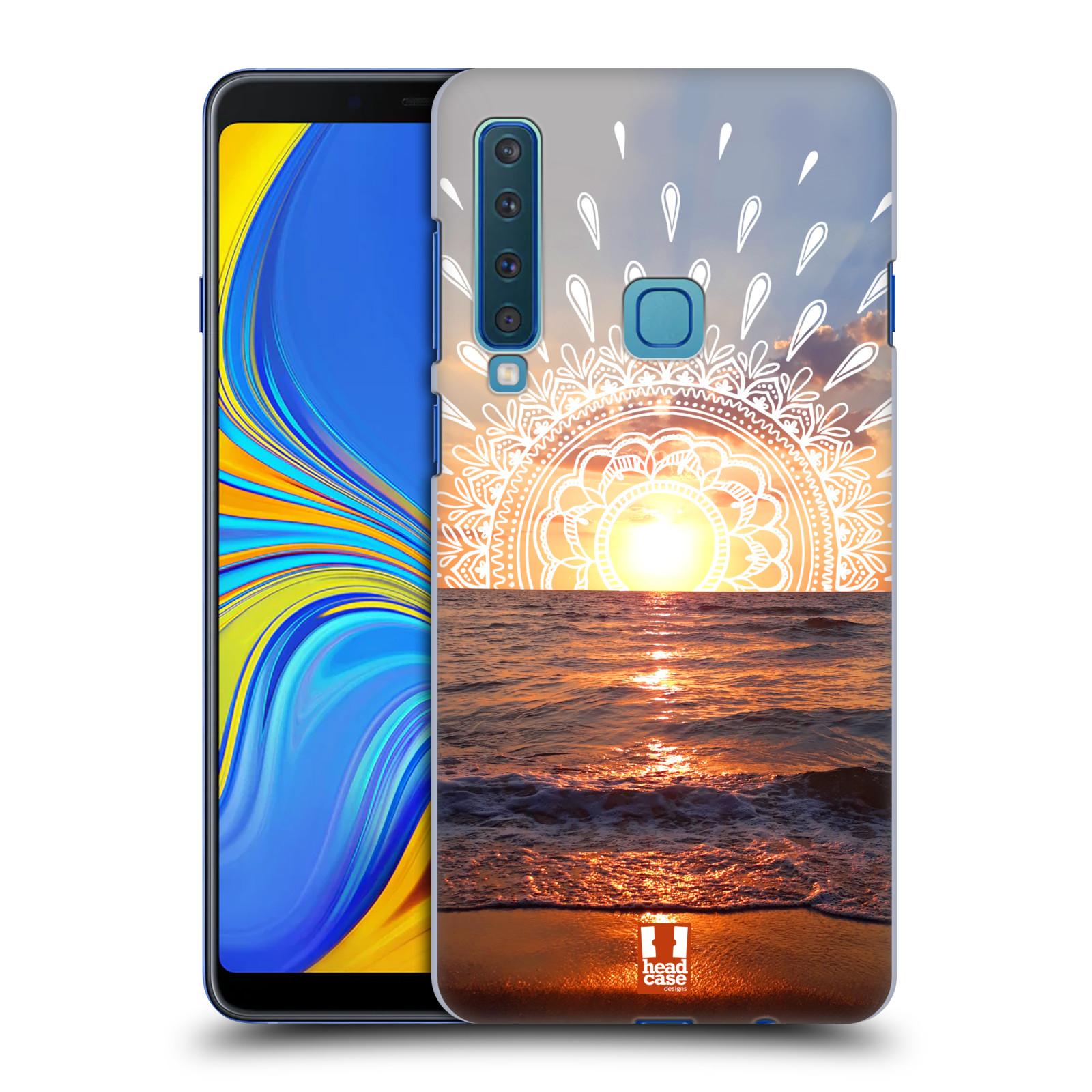 Pouzdro na mobil Samsung Galaxy A9 2018 - HEAD CASE - doodle západ slunce
