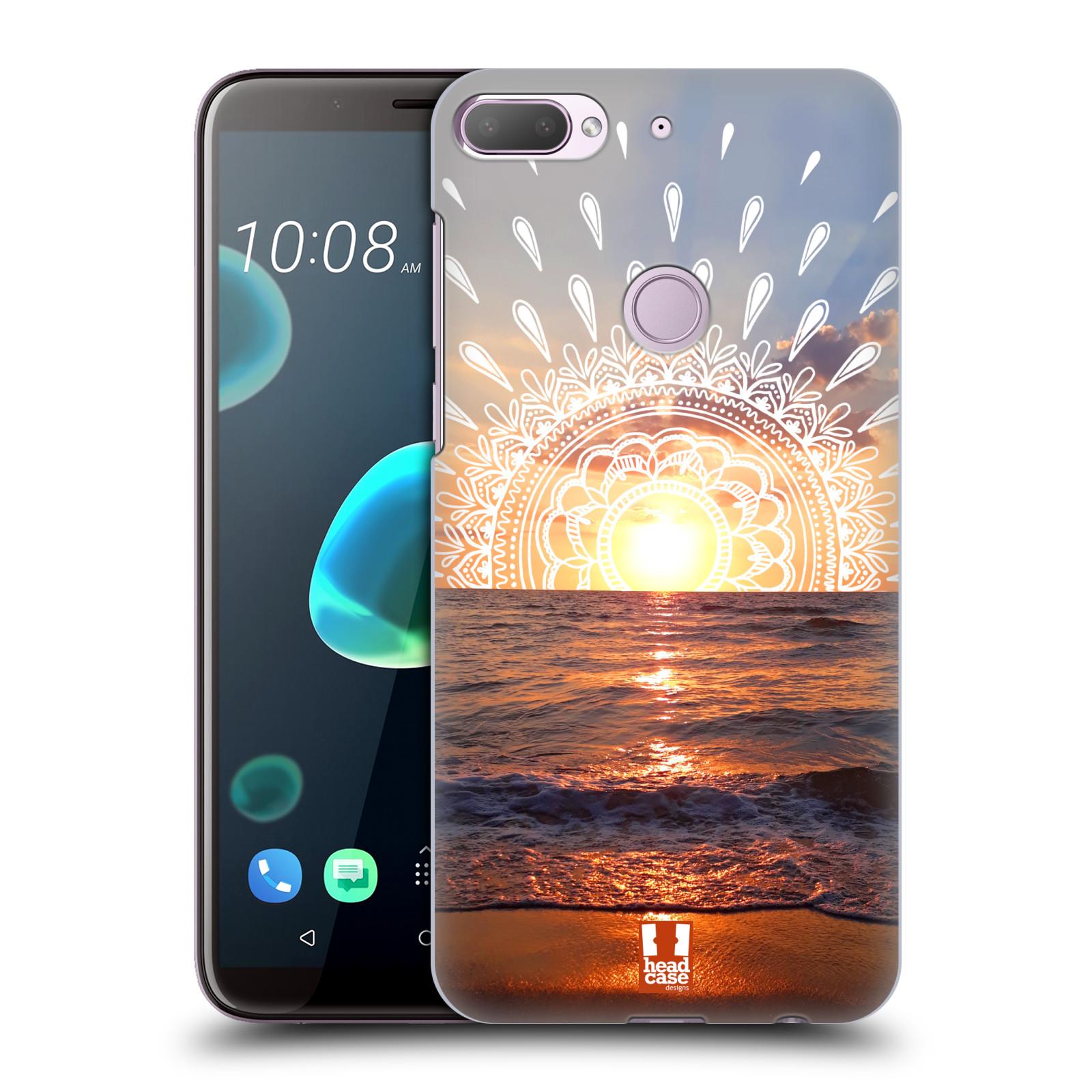 Pouzdro na mobil HTC Desire 12+ / Desire 12+ DUAL SIM - HEAD CASE - doodle západ slunce