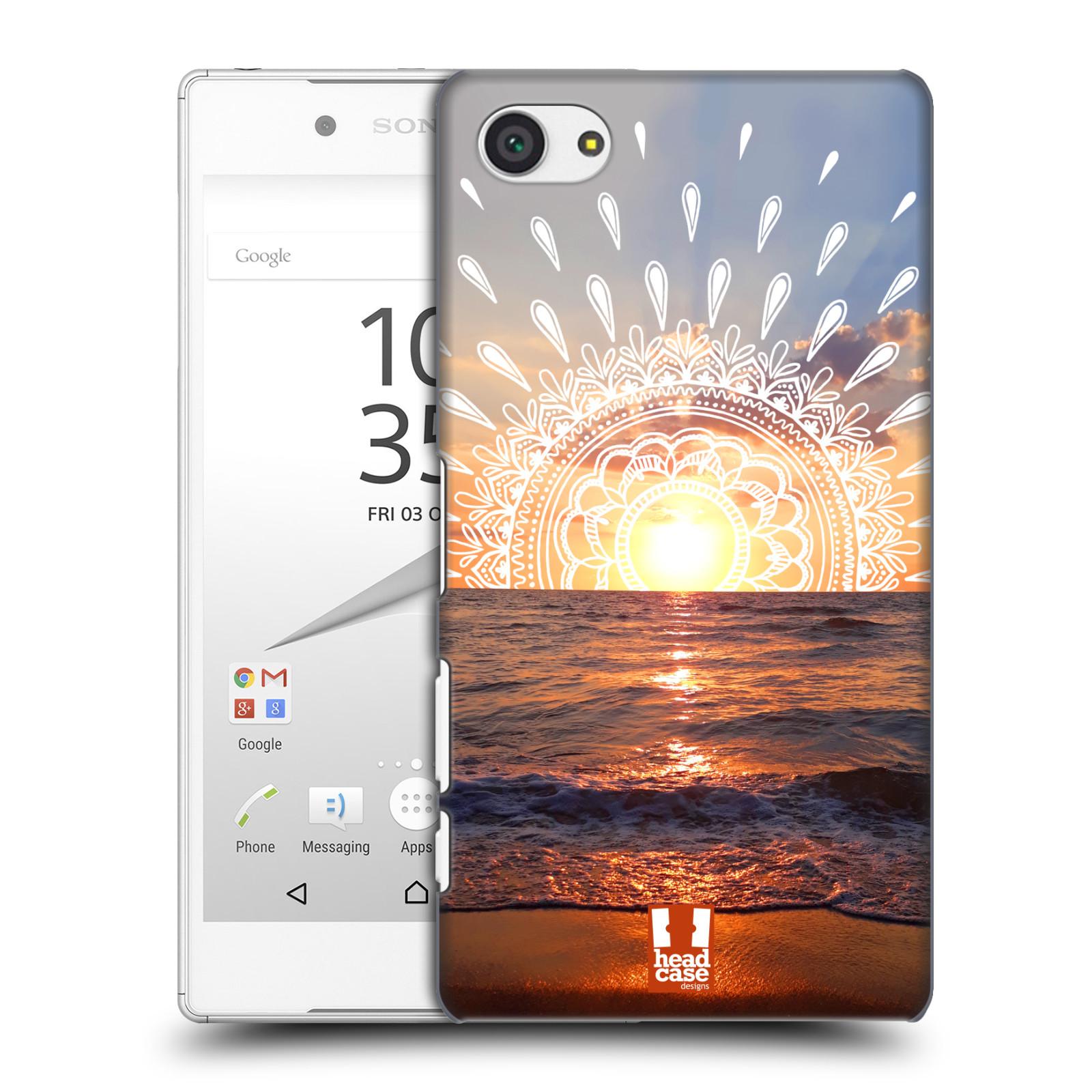 Pouzdro na mobil Sony Xperia Z5 COMPACT - HEAD CASE - doodle západ slunce