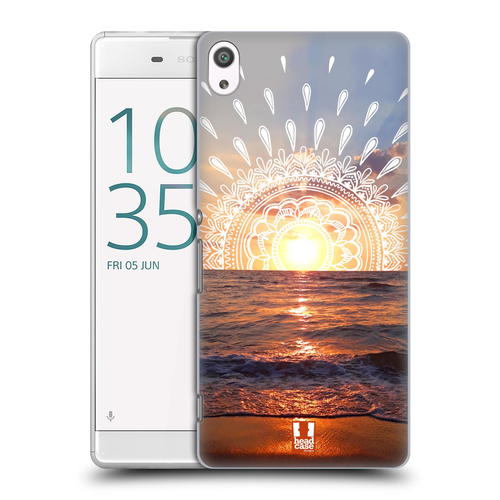 Pouzdro na mobil Sony Xperia XA ULTRA - HEAD CASE - doodle západ slunce