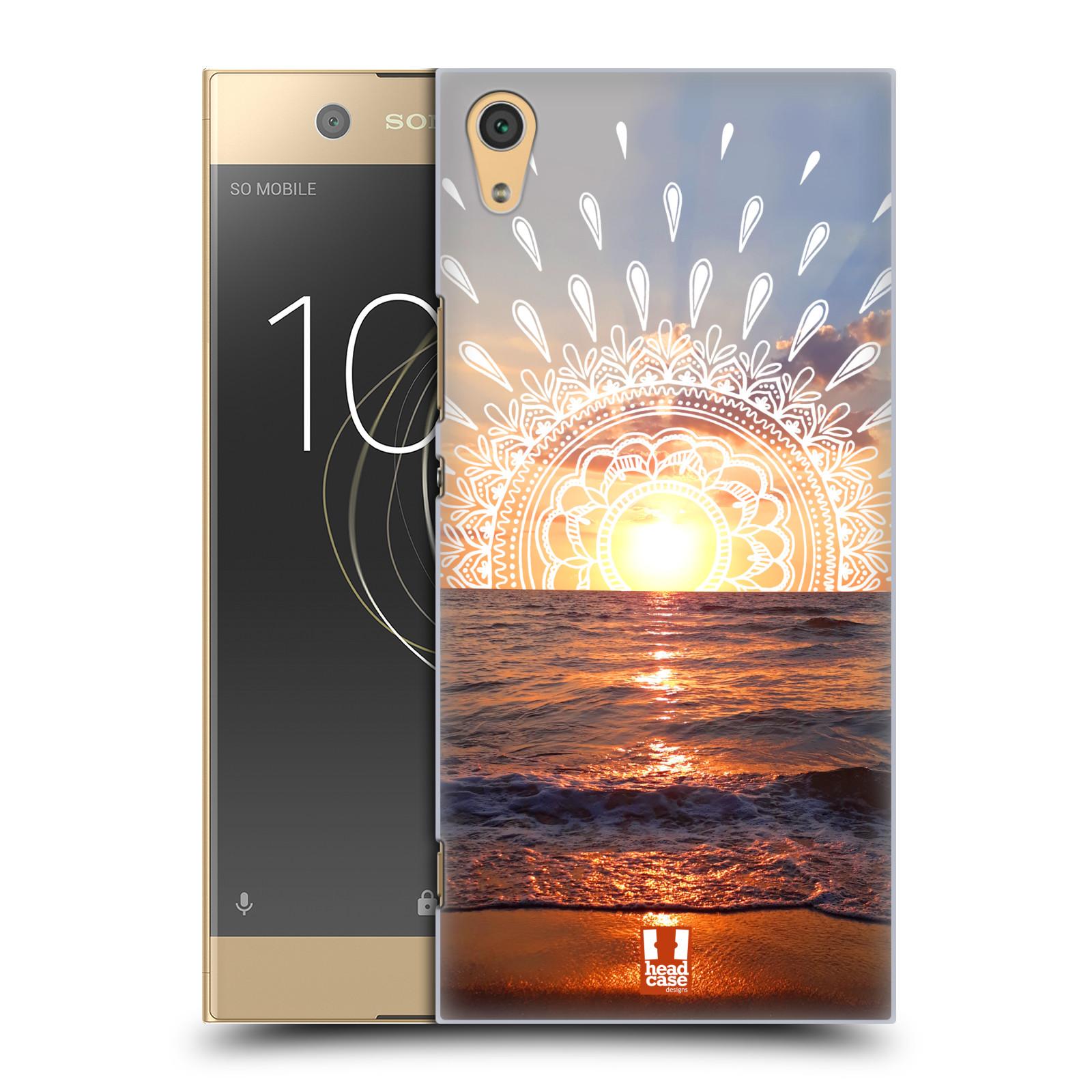 Pouzdro na mobil Sony Xperia XA1 ULTRA - HEAD CASE - doodle západ slunce