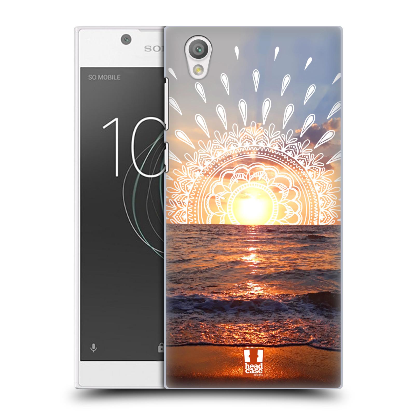 Pouzdro na mobil Sony Xperia L1 - HEAD CASE - doodle západ slunce