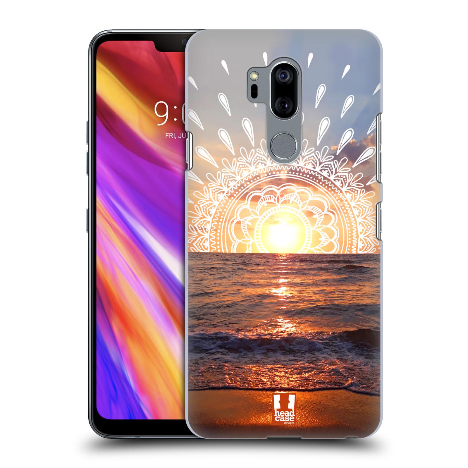 Pouzdro na mobil LG G7  ThinQ - HEAD CASE - doodle západ slunce