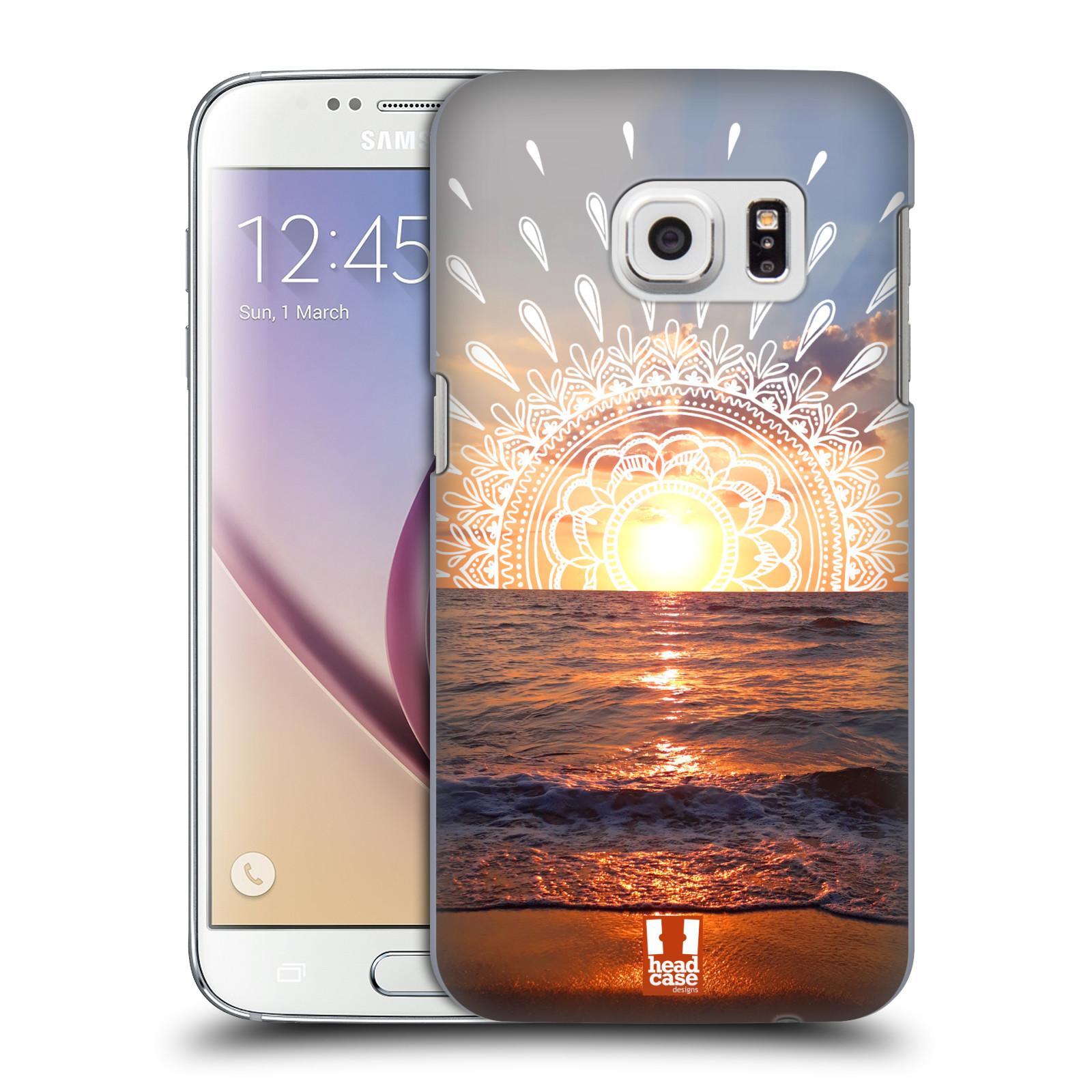 Pouzdro na mobil Samsung Galaxy S7 - HEAD CASE - doodle západ slunce