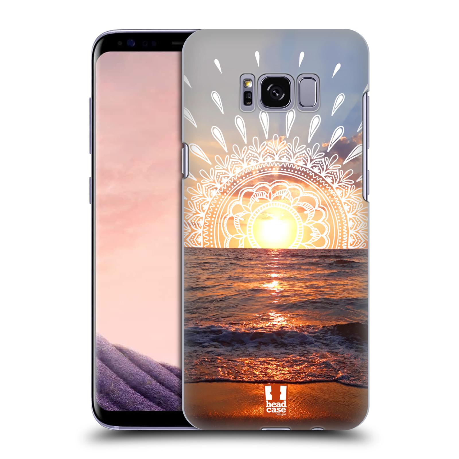 Pouzdro na mobil Samsung Galaxy S8 - HEAD CASE - doodle západ slunce