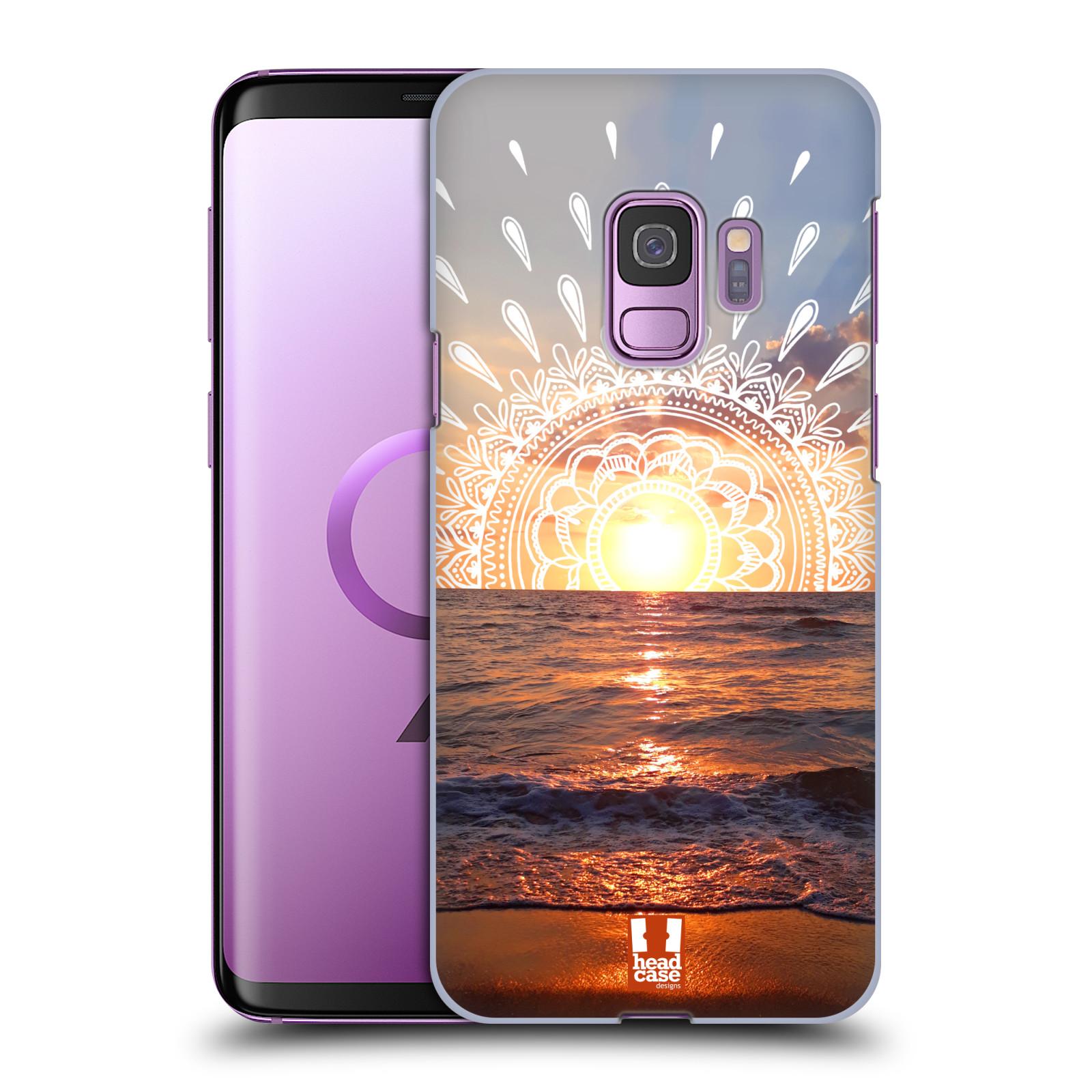 Pouzdro na mobil Samsung Galaxy S9 - HEAD CASE - doodle západ slunce