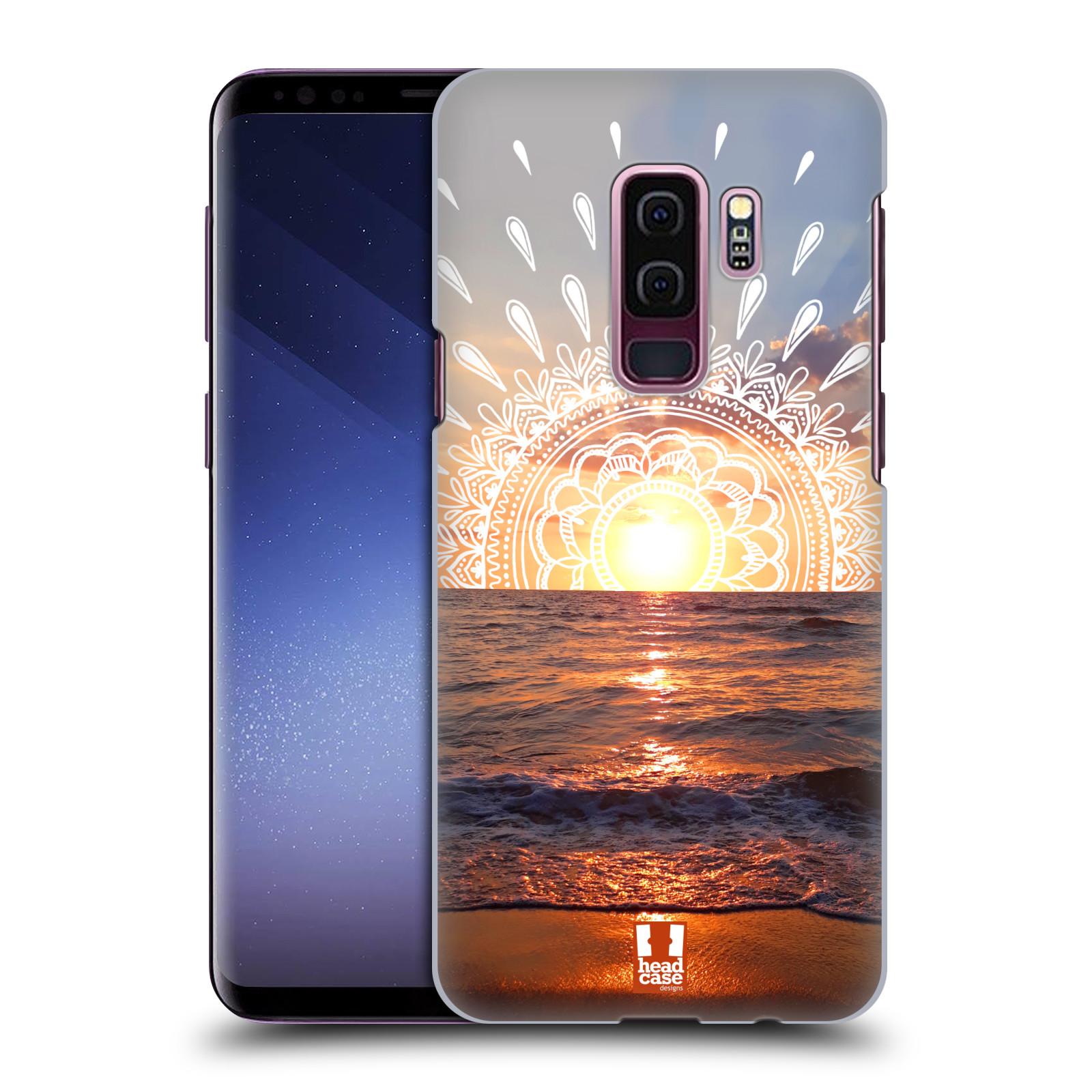 Pouzdro na mobil Samsung Galaxy S9+ / S9 PLUS - HEAD CASE - doodle západ slunce
