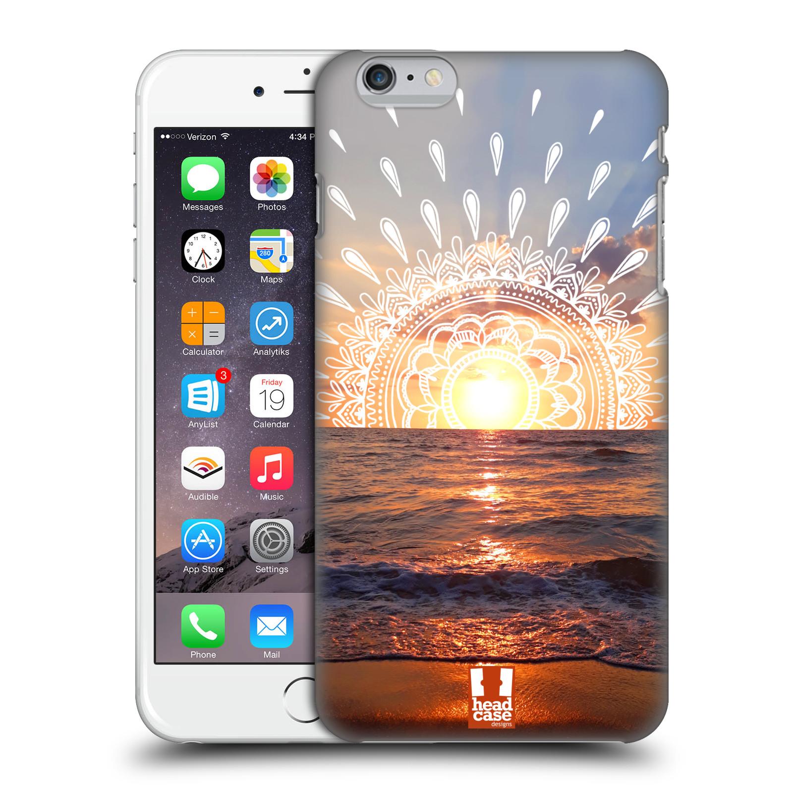 Pouzdro na mobil Apple Iphone 6/6S PLUS - HEAD CASE - doodle západ slunce