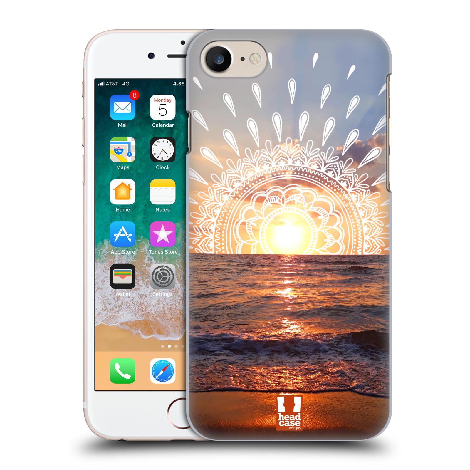 Pouzdro na mobil Apple Iphone 7/8 - HEAD CASE - doodle západ slunce