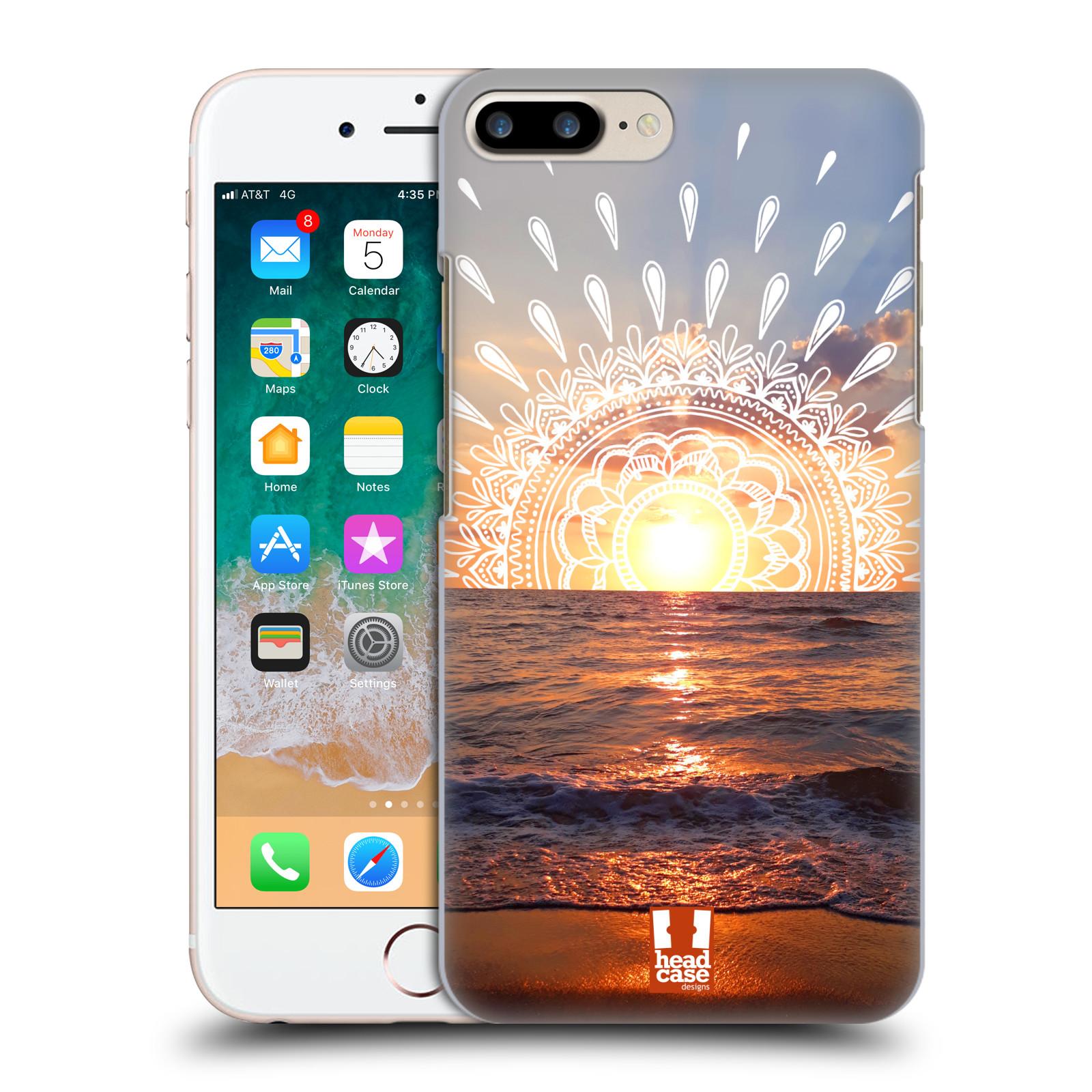 Pouzdro na mobil Apple Iphone 7/8 PLUS - HEAD CASE - doodle západ slunce