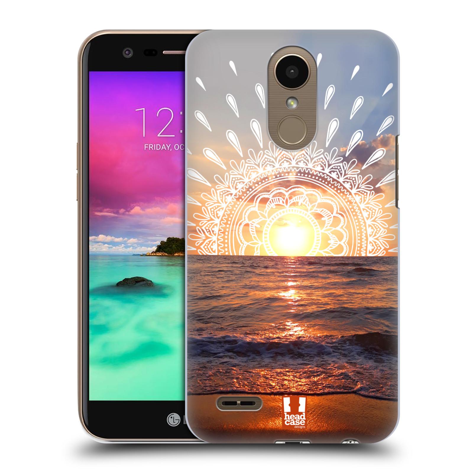 Pouzdro na mobil LG K10 2017 / K10 2017 DUAL SIM - HEAD CASE - doodle západ slunce