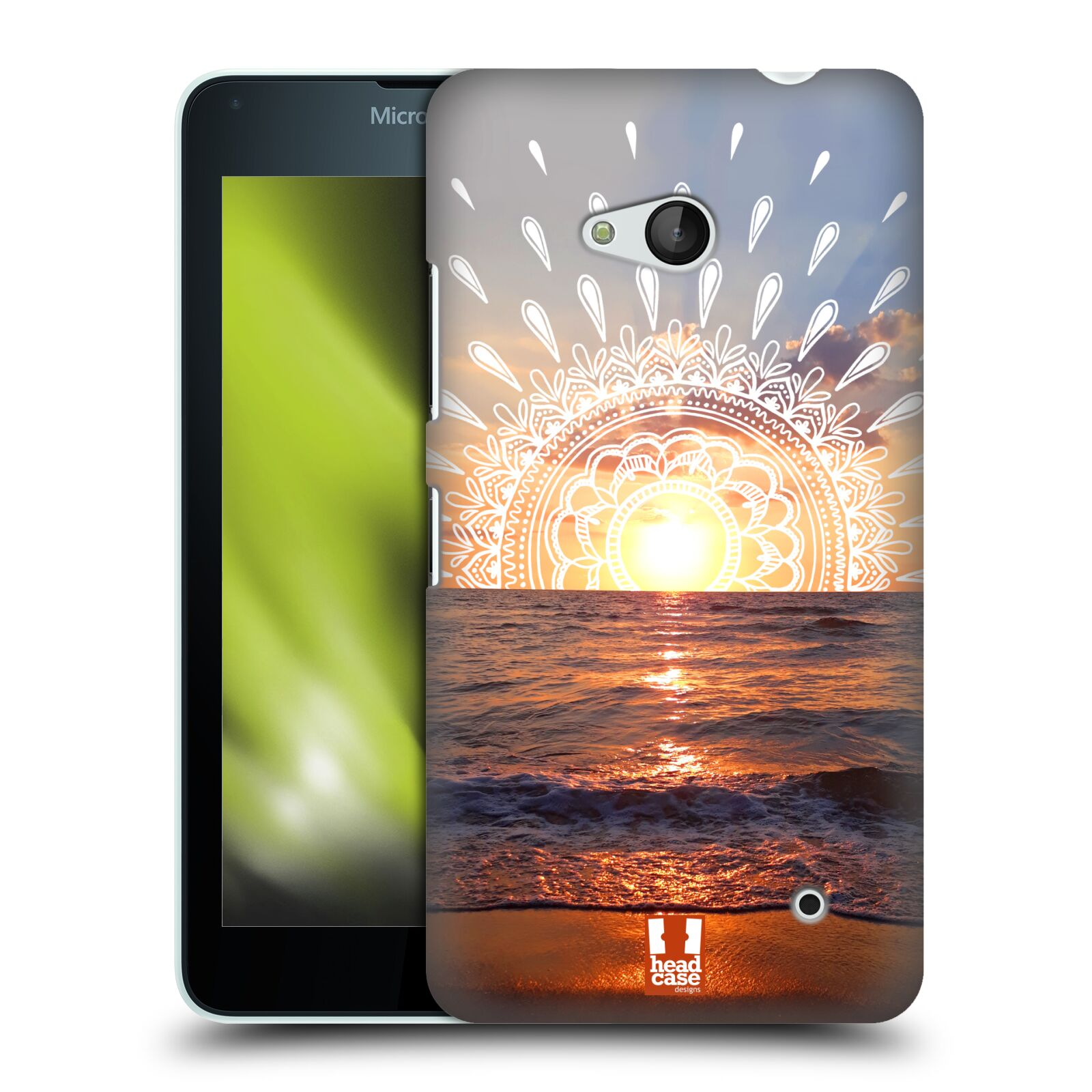 Pouzdro na mobil Microsoft Lumia 640 / 640 DUAL SIM - HEAD CASE - doodle západ slunce