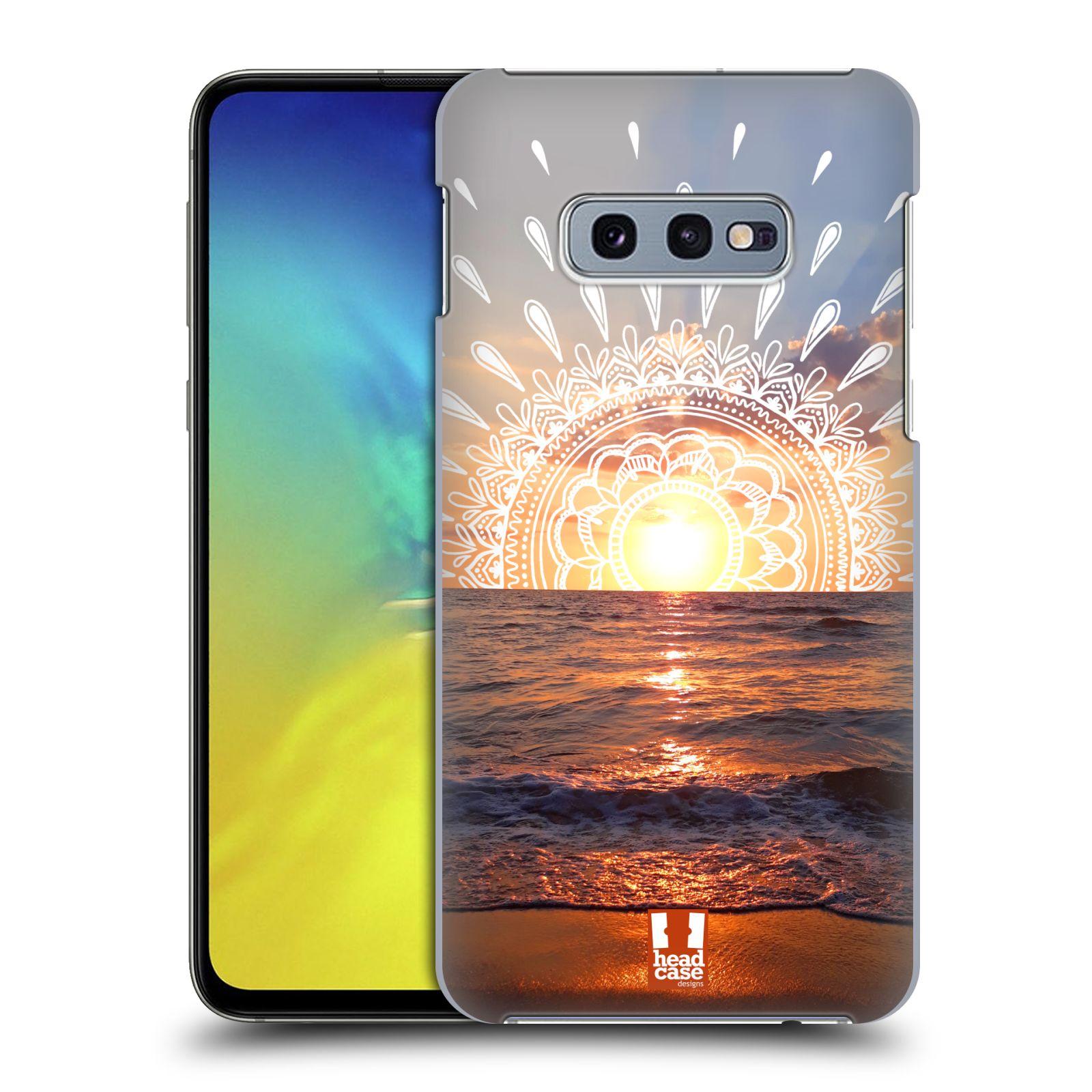 Pouzdro na mobil Samsung Galaxy S10e - HEAD CASE - doodle západ slunce