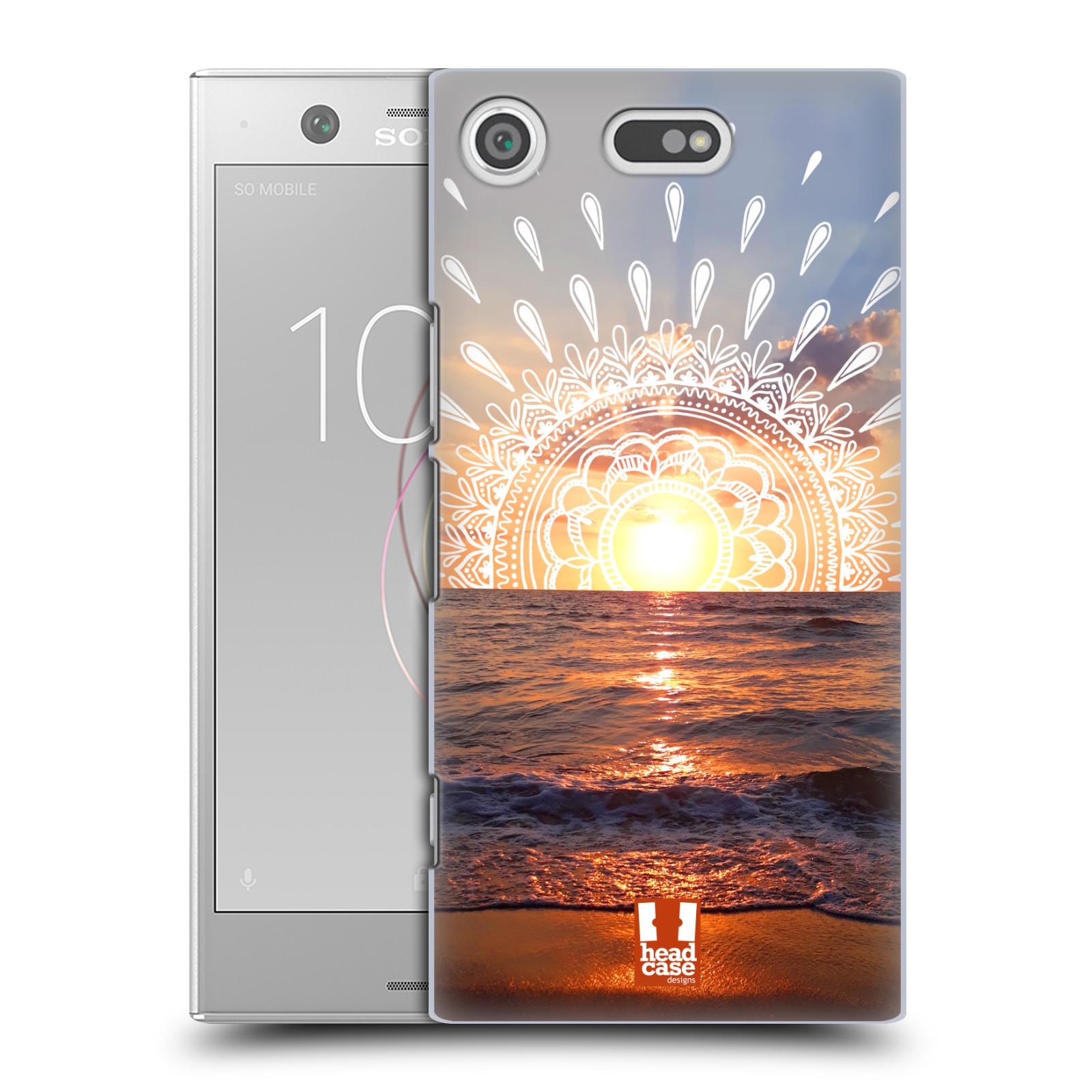 Pouzdro na mobil Sony Xperia XZ1 COMPACT - HEAD CASE - doodle západ slunce