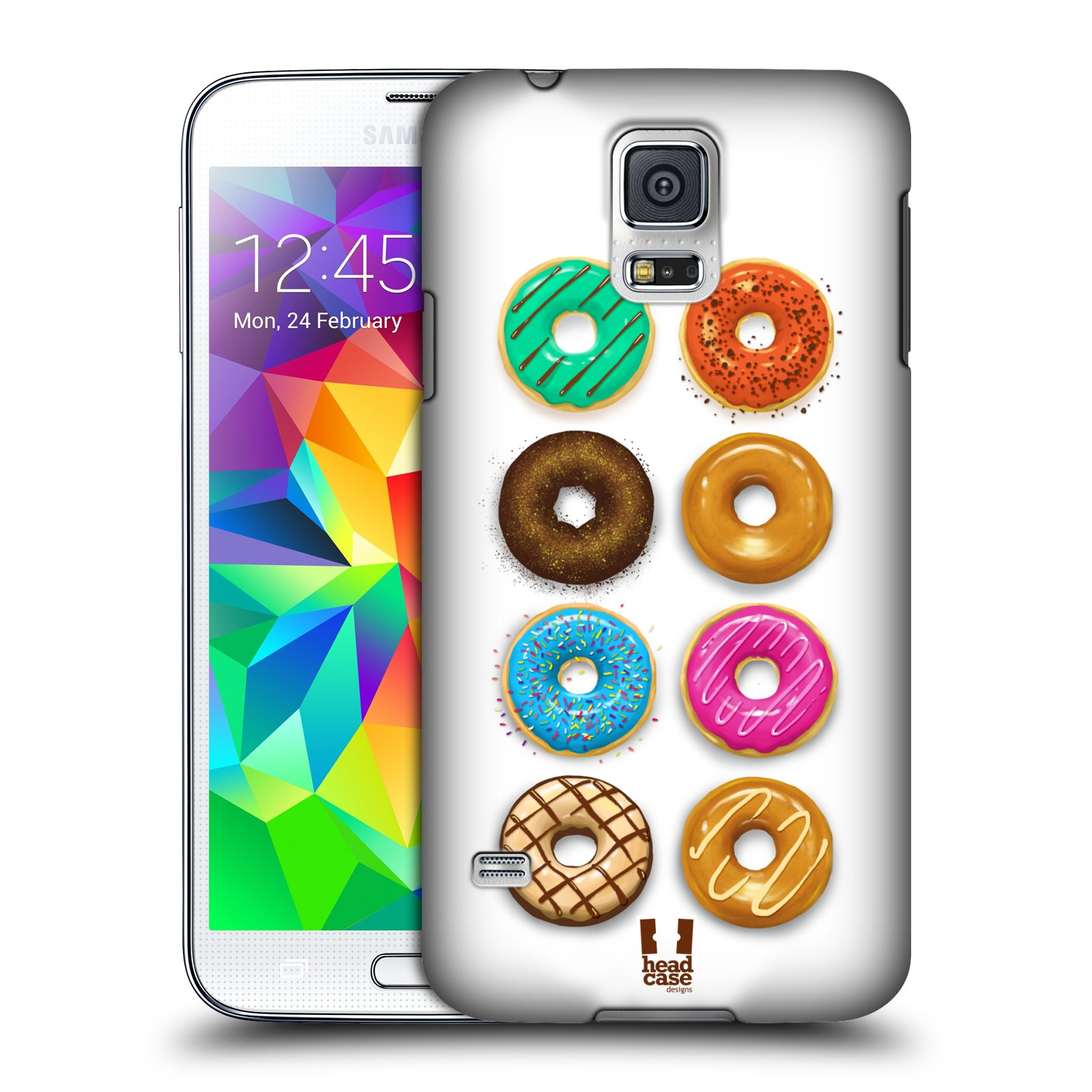 HEAD CASE DESIGNS DOUGHNUTS CASE COVER FOR SAMSUNG GALAXY S5