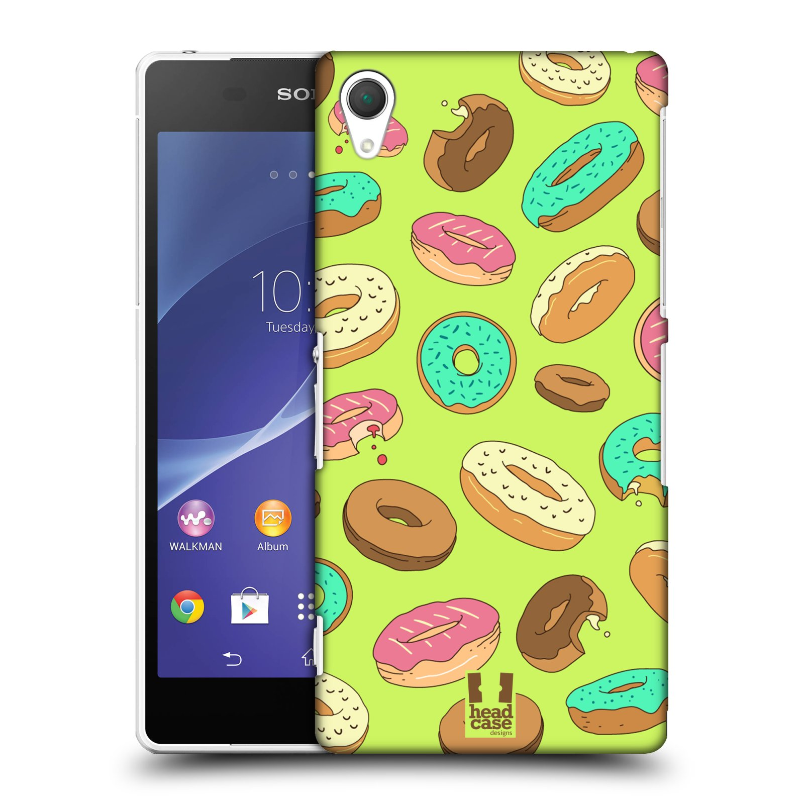 HEAD CASE DESIGNS DOUGHNUTS CASE COVER FOR SONY XPERIA Z2 D6503