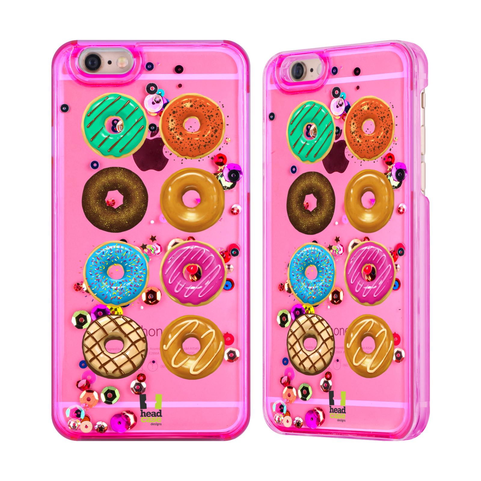 DOUGHNUTS-ROSE-PAILLETTES-ET-ETOILE-POUR-APPLE-iPHONE-SAMSUNG-TELEPHONES