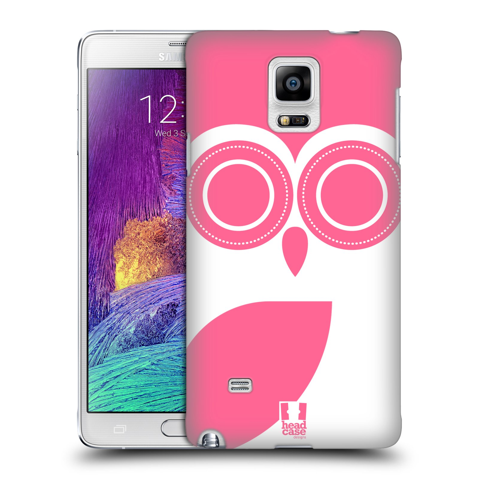HEAD CASE DESIGNS DARLING OWLS CASE COVER FOR SAMSUNG GALAXY NOTE 4