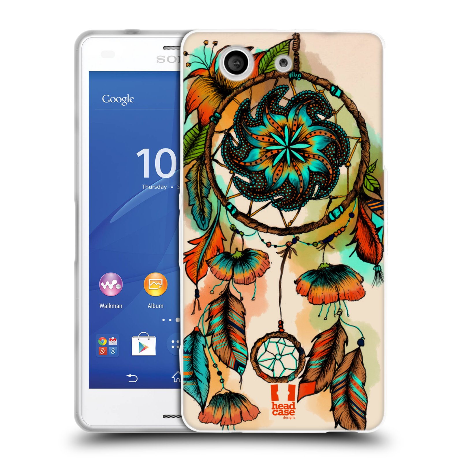 HEAD CASE DREAMCATCHER BLOOM SILICONE GEL CASE FOR SONY XPERIA Z3 COMPACT D5803