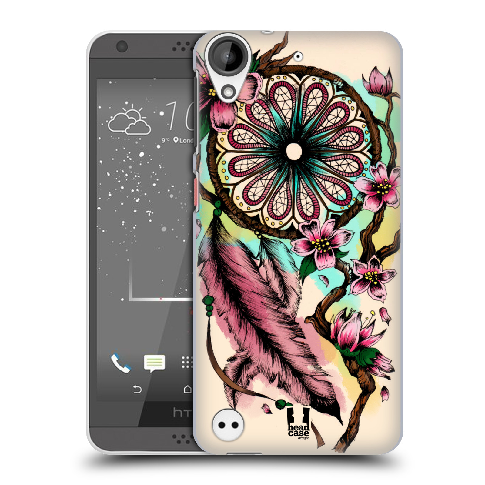 htc 530 desire case. head-case-designs-dreamcatcher-bloom-hard-back-case- htc 530 desire case a