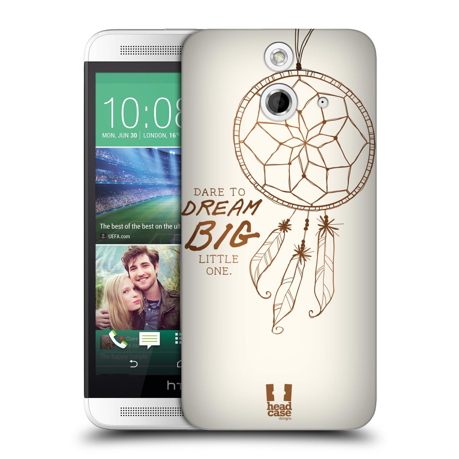 HEAD CASE DESIGNS DREAMCATCHERS SERIES 1 HARD BACK CASE FOR HTC ONE E8 DUAL SIM