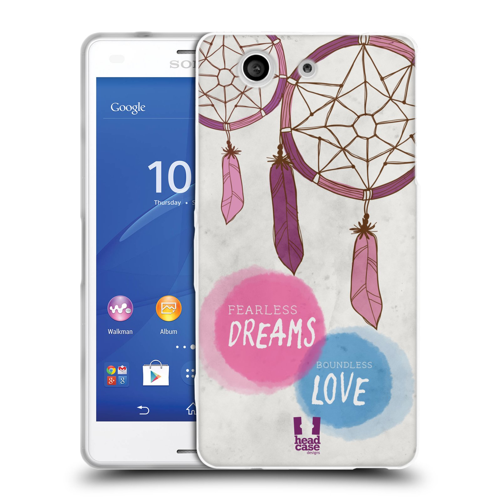 HEAD CASE DREAMCATCHERS SERIES 1 GEL CASE FOR SONY XPERIA Z3 COMPACT D5803